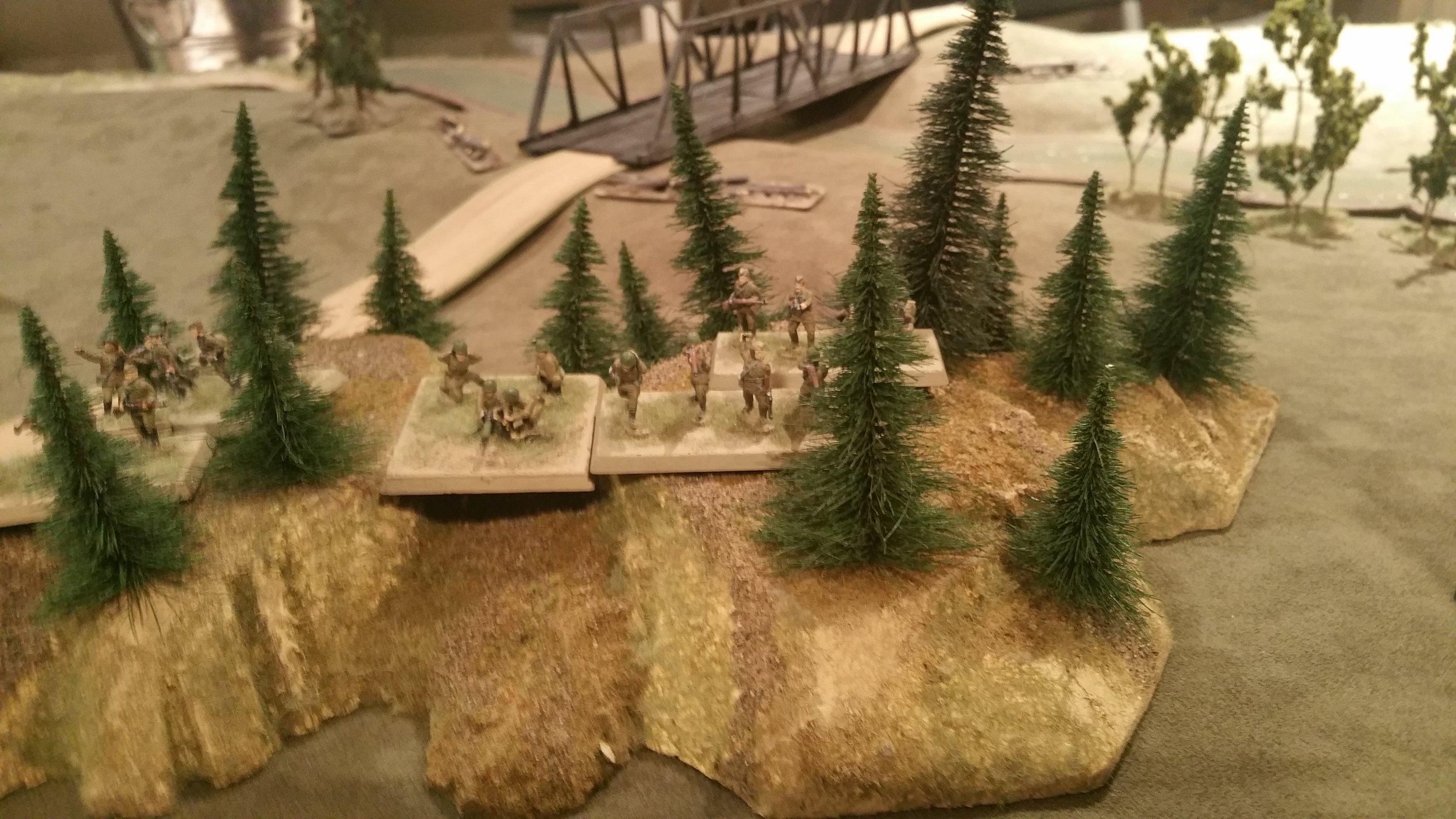 Russkie Platoon 2 Holds the Center