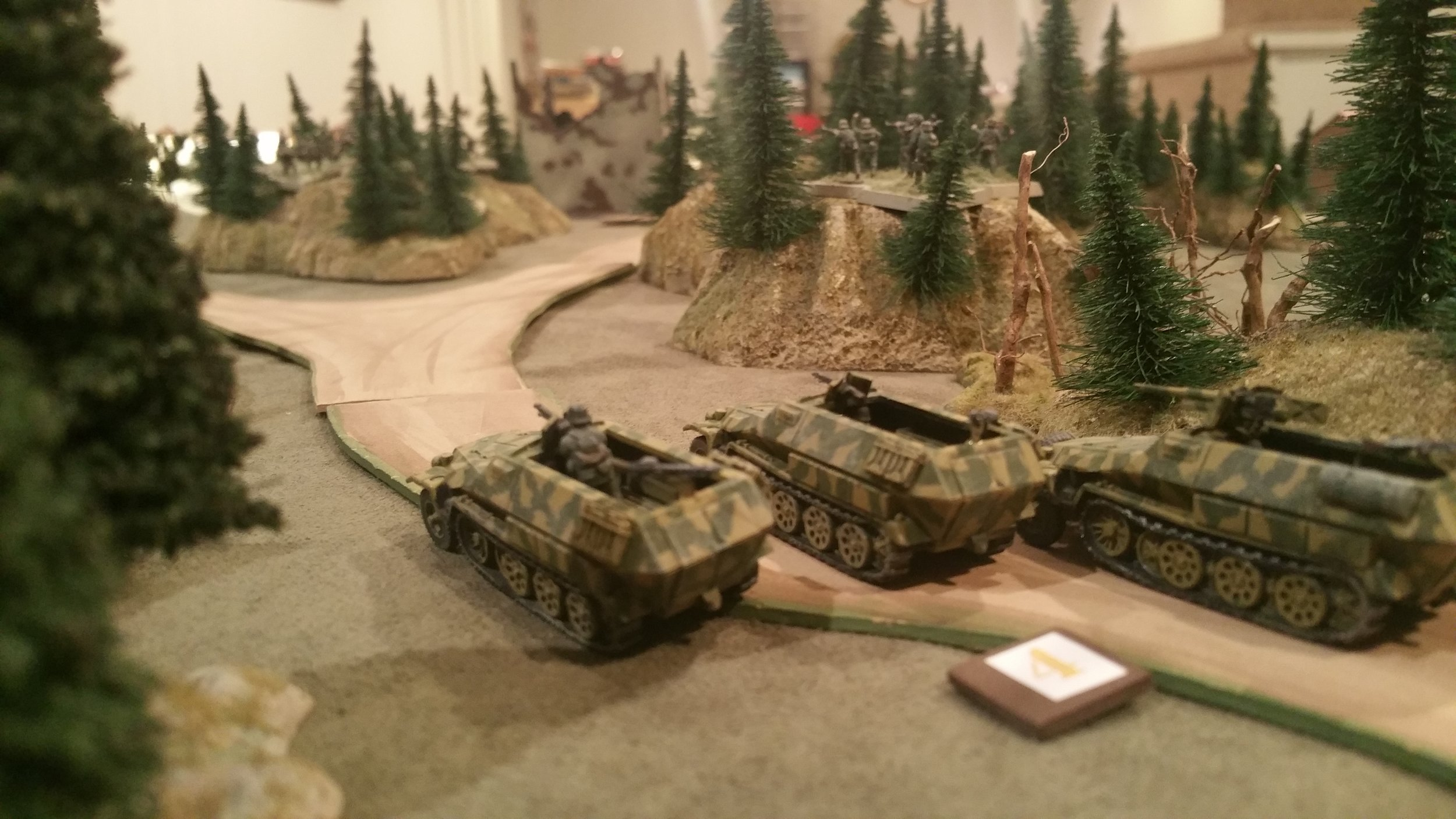 Panzergrenadiers Press the Bridge