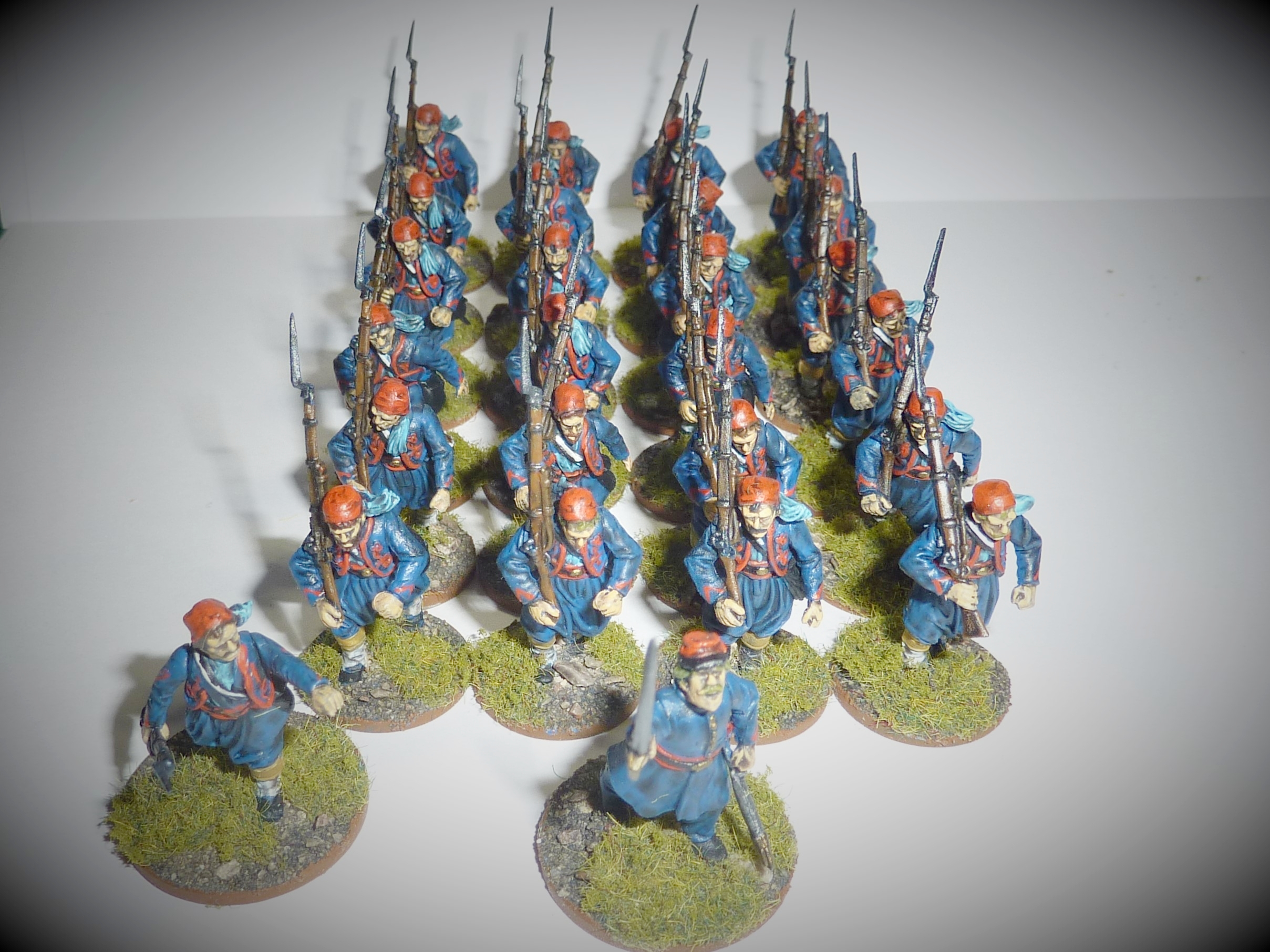 Zouaves from Lazarus himself: Mr Ralls