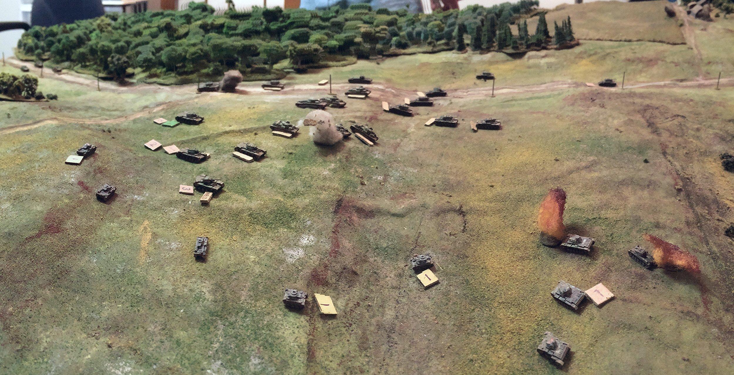 Panzer IIs Around the Flank