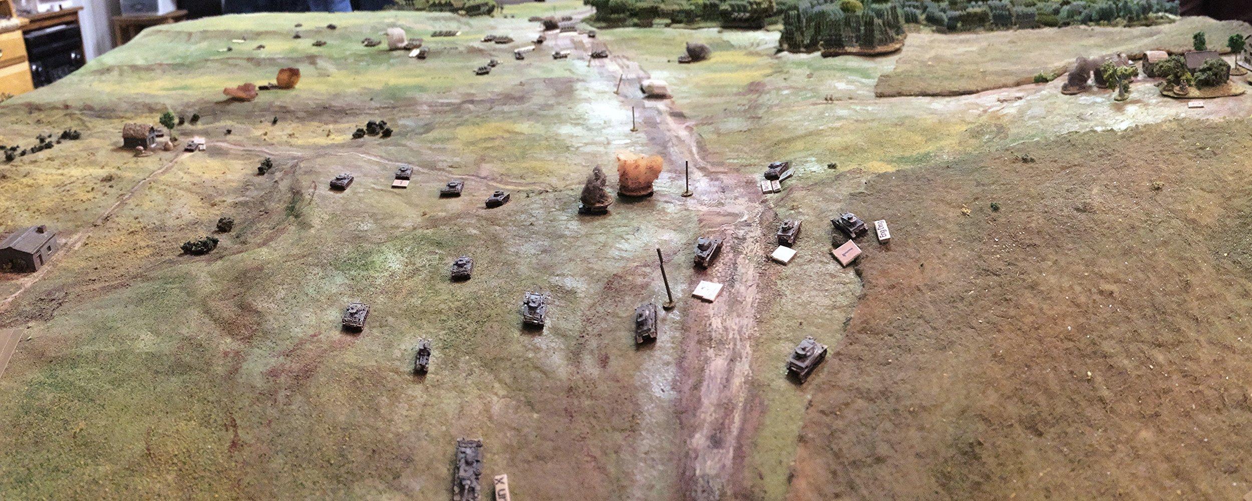 German Tank Ace Brews Up