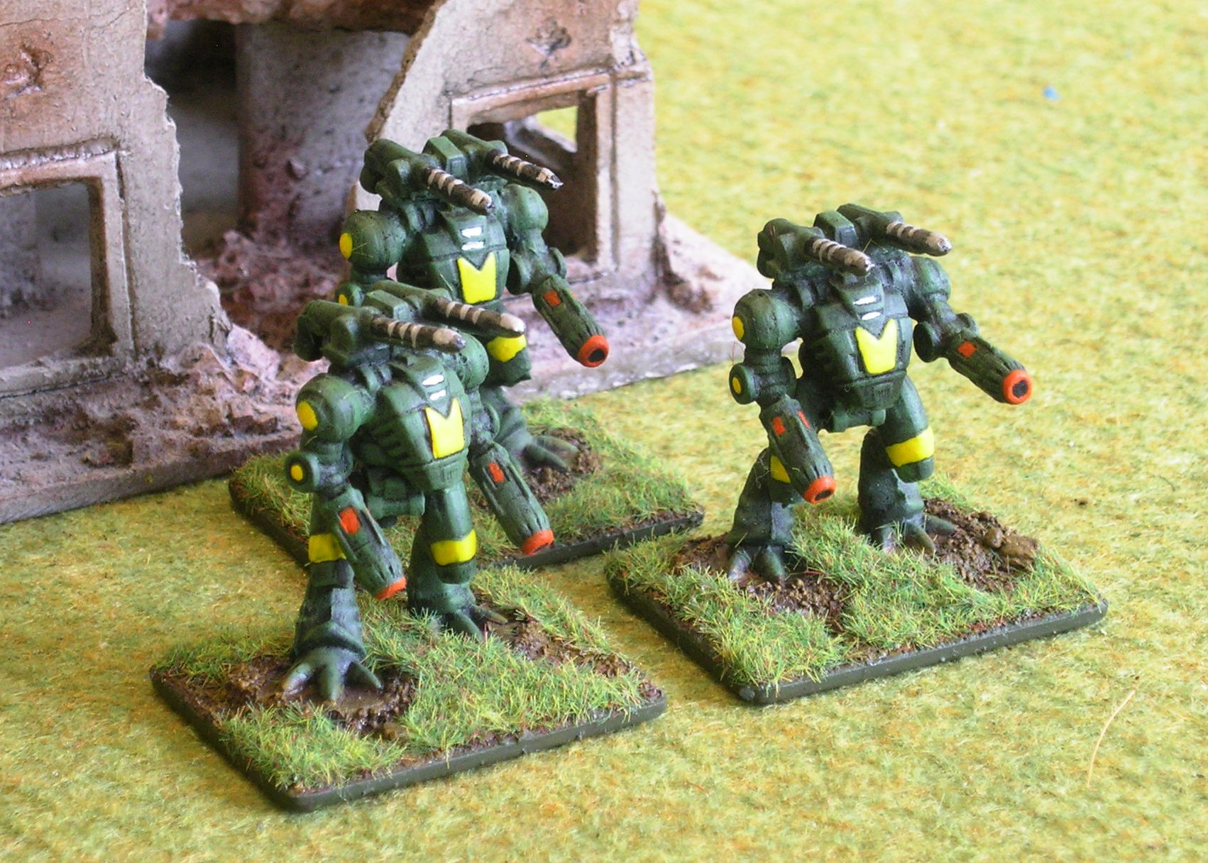 Hunter Ayame Assault Battlesuits