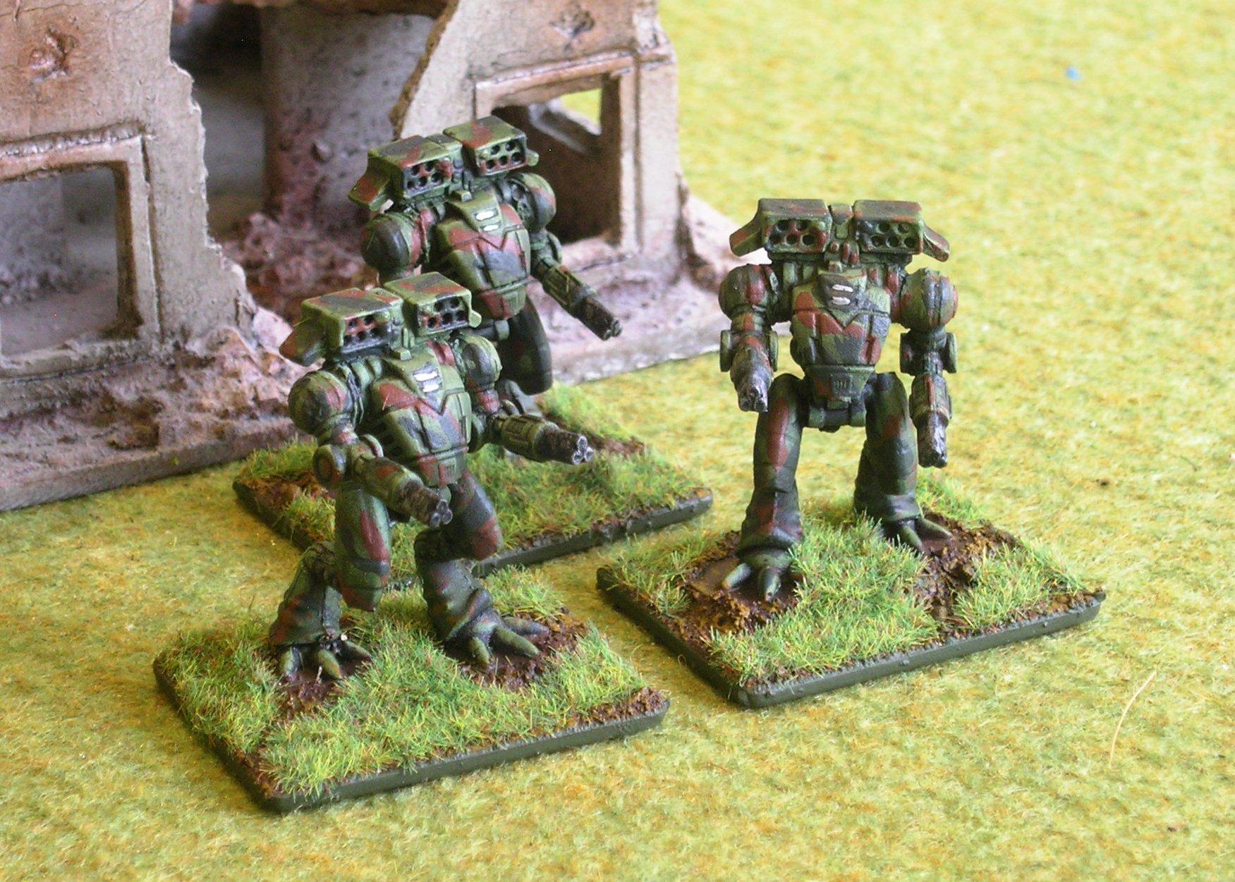 Scout Ayame Assault Battlesuits