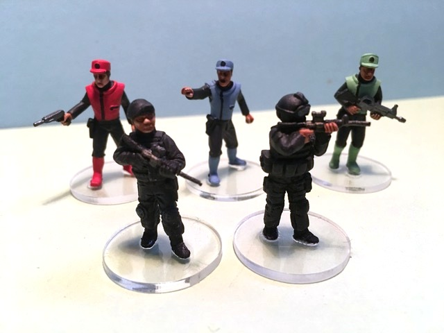 This is the voice of the Mysterons...Captain Scarlet and friends from Chris Kay