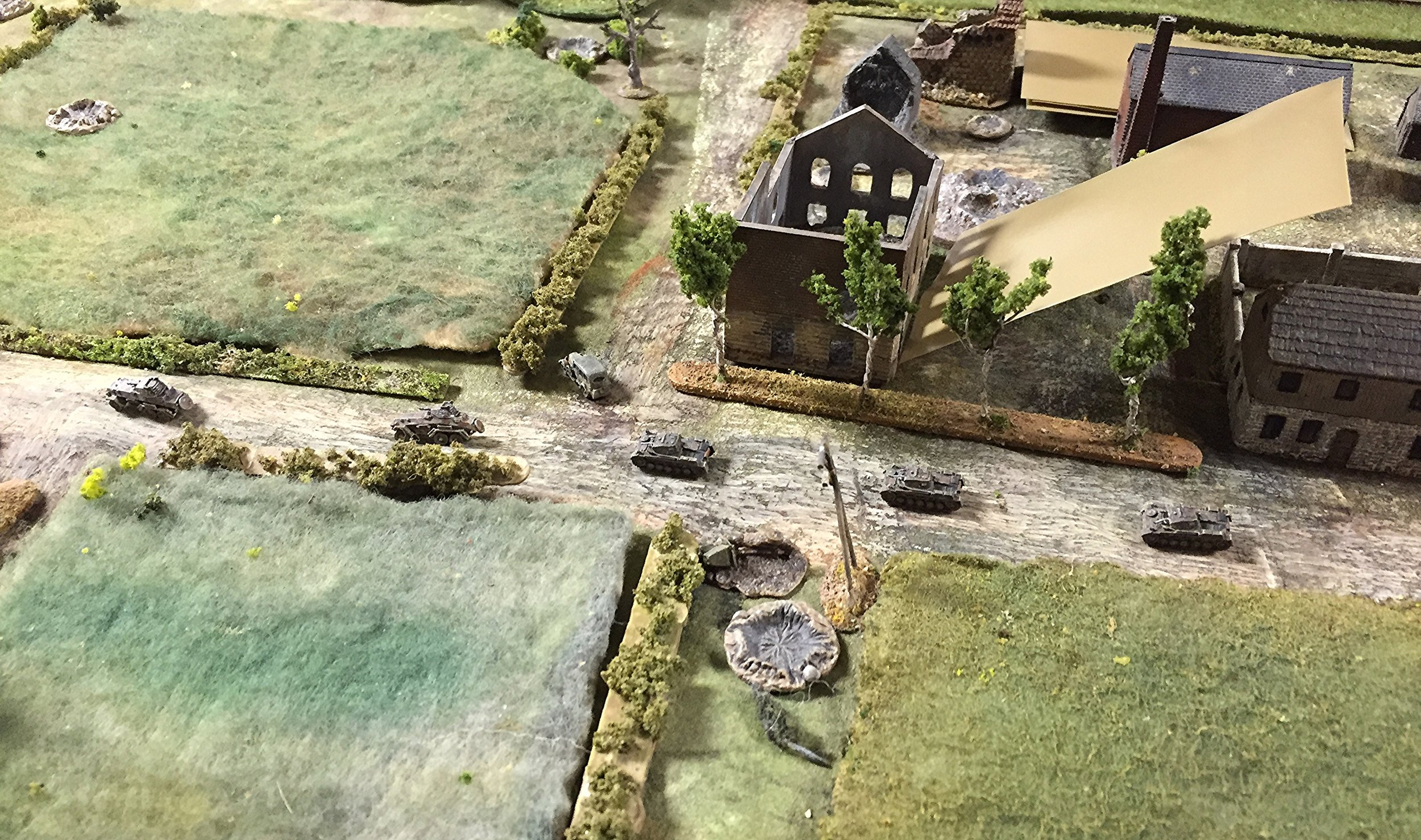 Followed by the three Panzer IICs