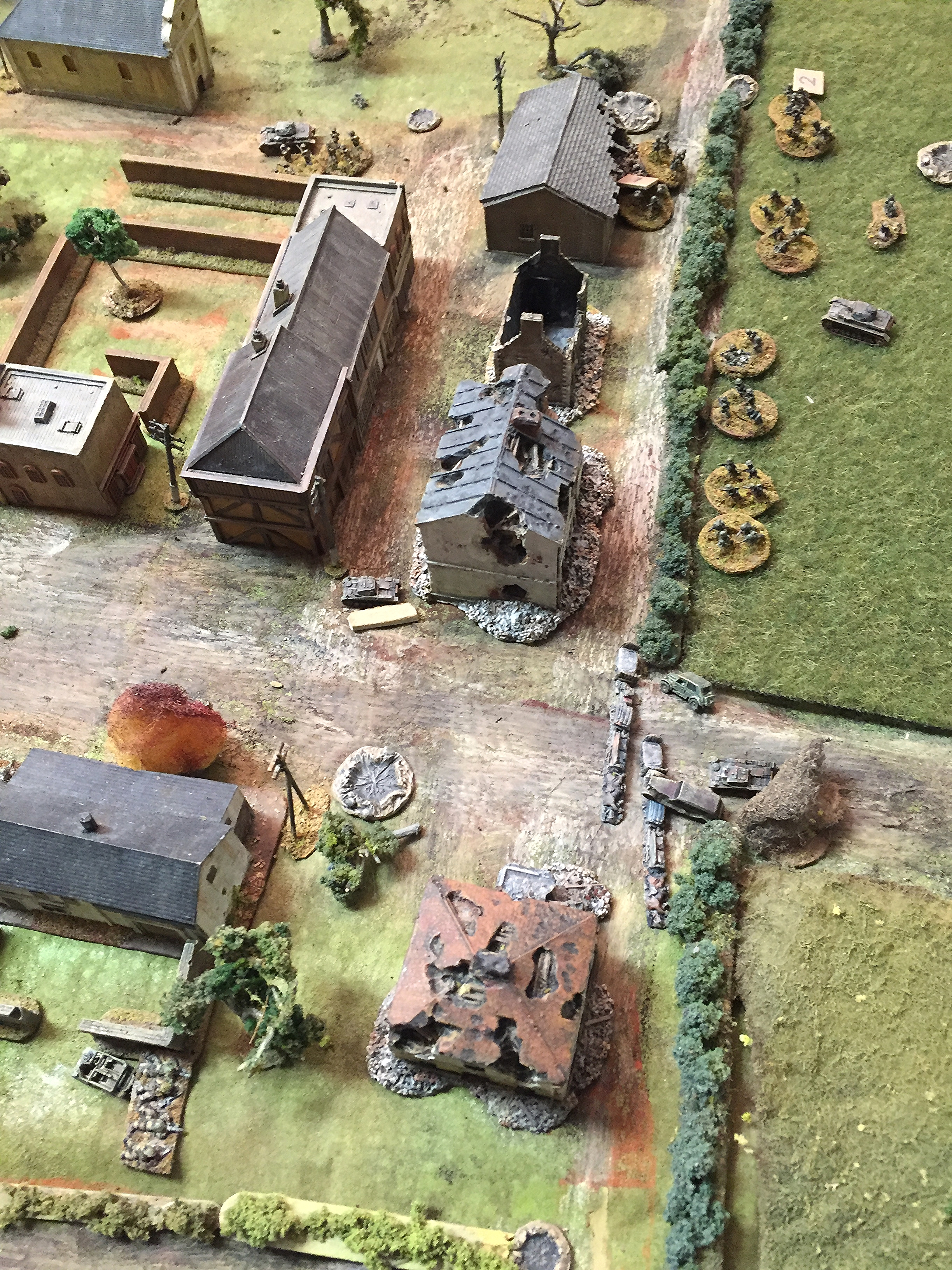 Most of the German Squads are Down to Two Actions