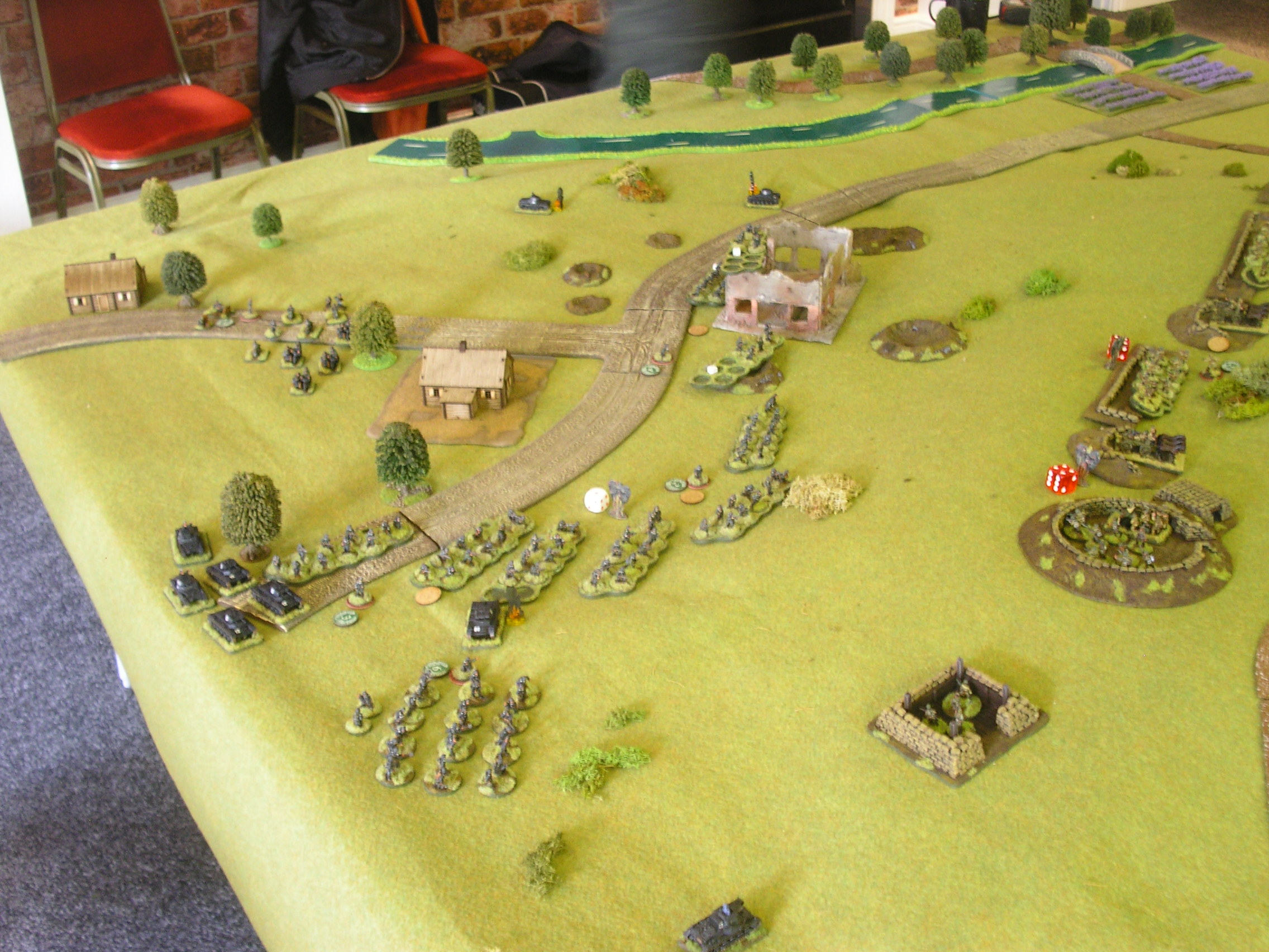Germans mass for the attack