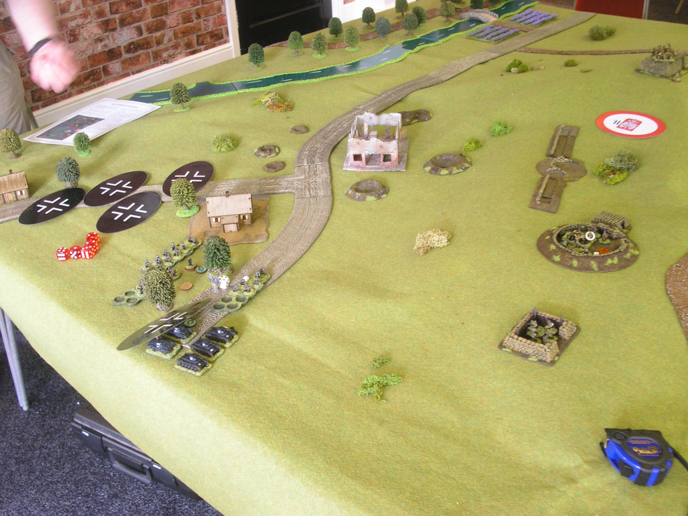 German attack unfolds