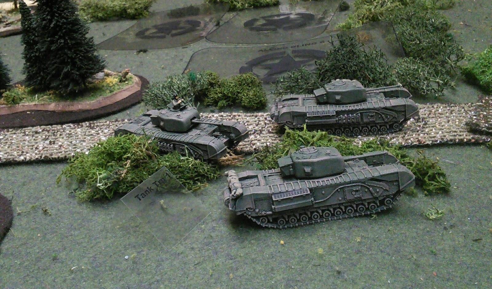 Churchills advancing