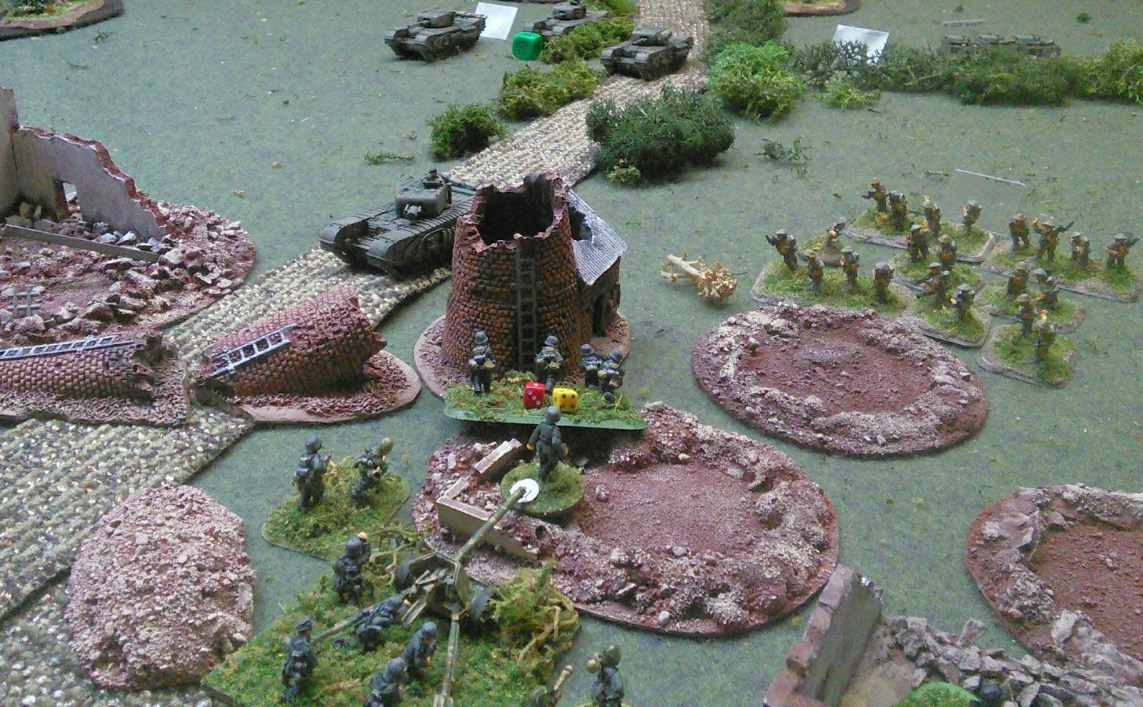 1 Platoon presses the attack