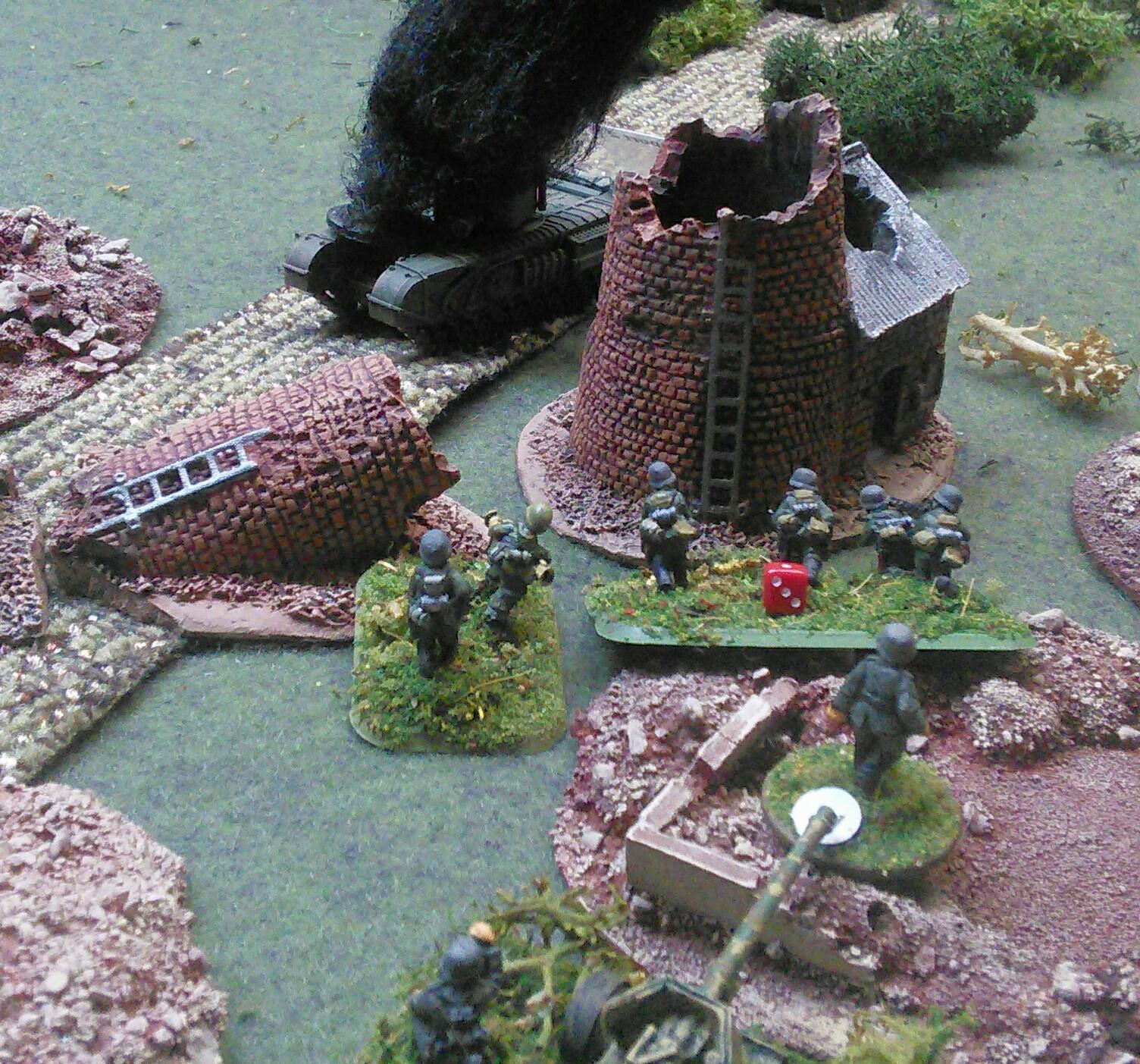 Panzerschreck team brews up the AVRE