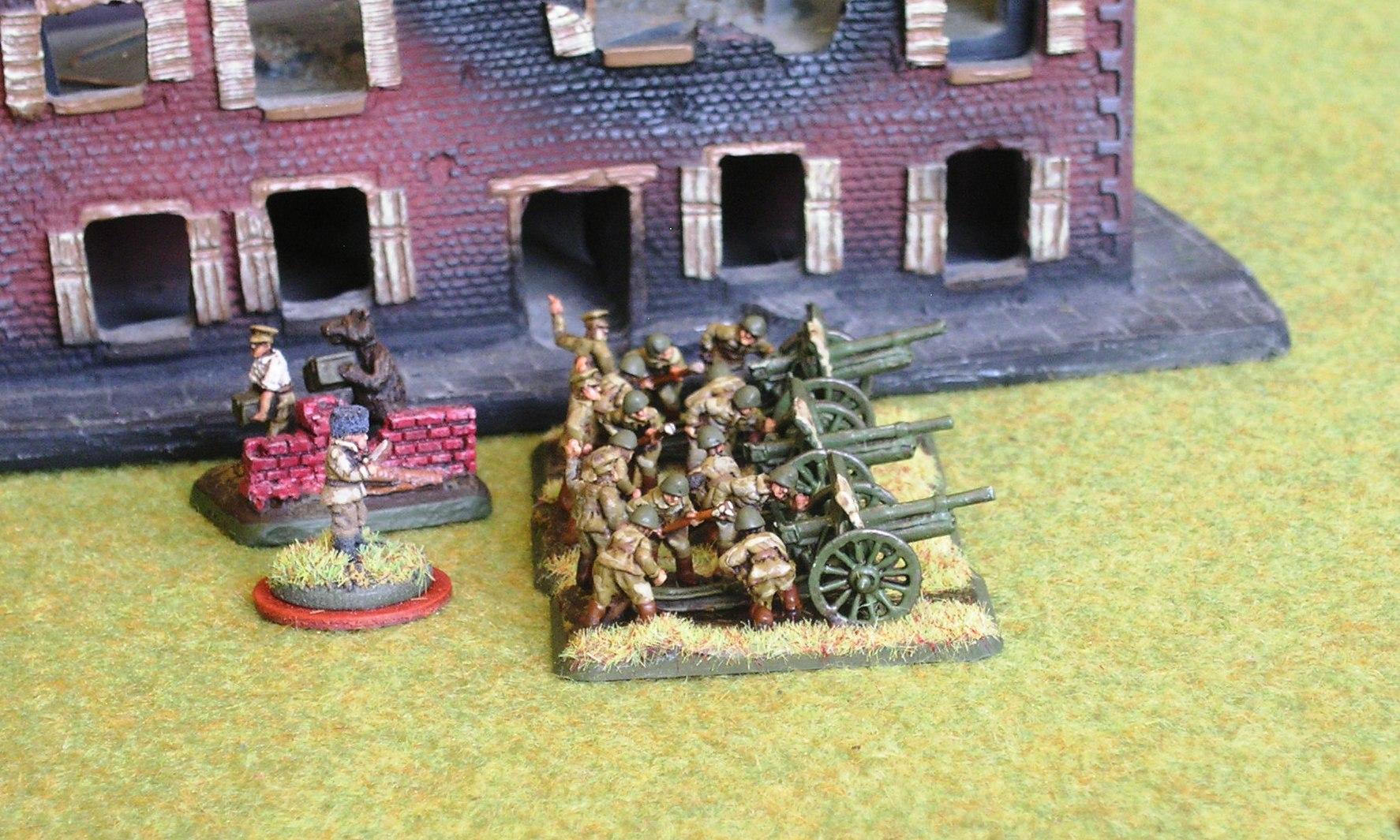 horse artillery battery (foo, but no limbers)