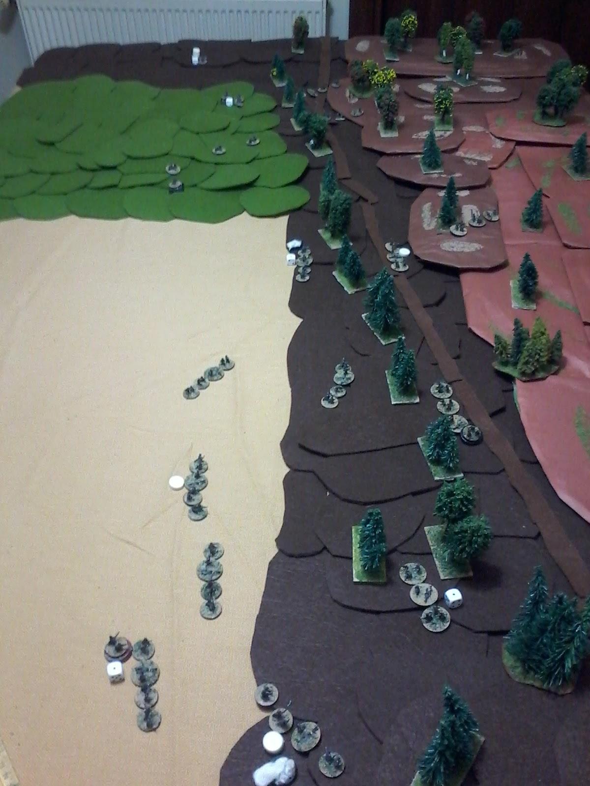 The Greek Platoon under severe pressure