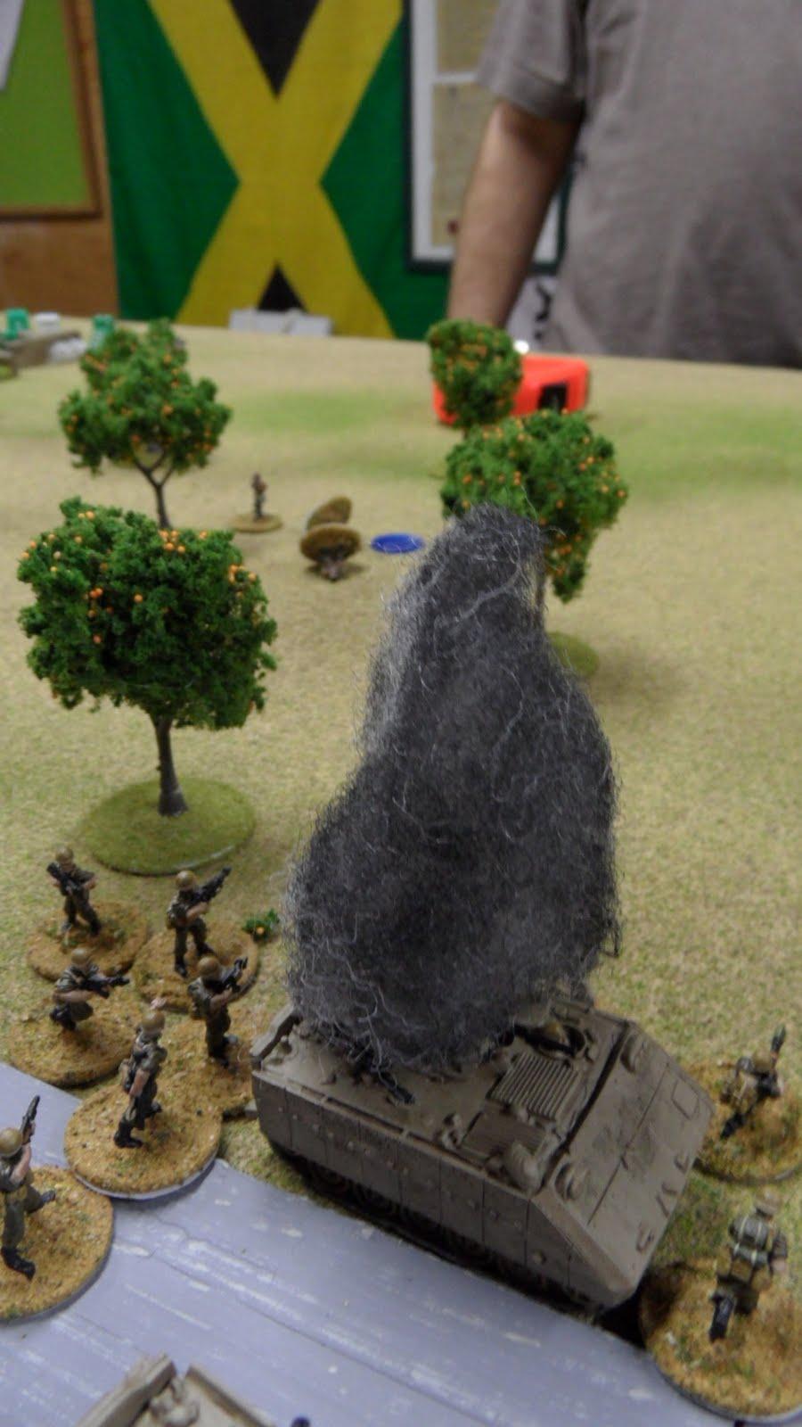 the IDF infantry swiftly took revenge