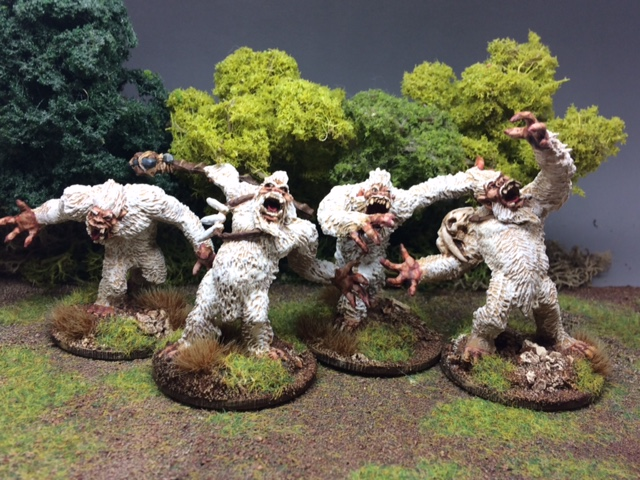 Now those are some seriously miffed yeti!