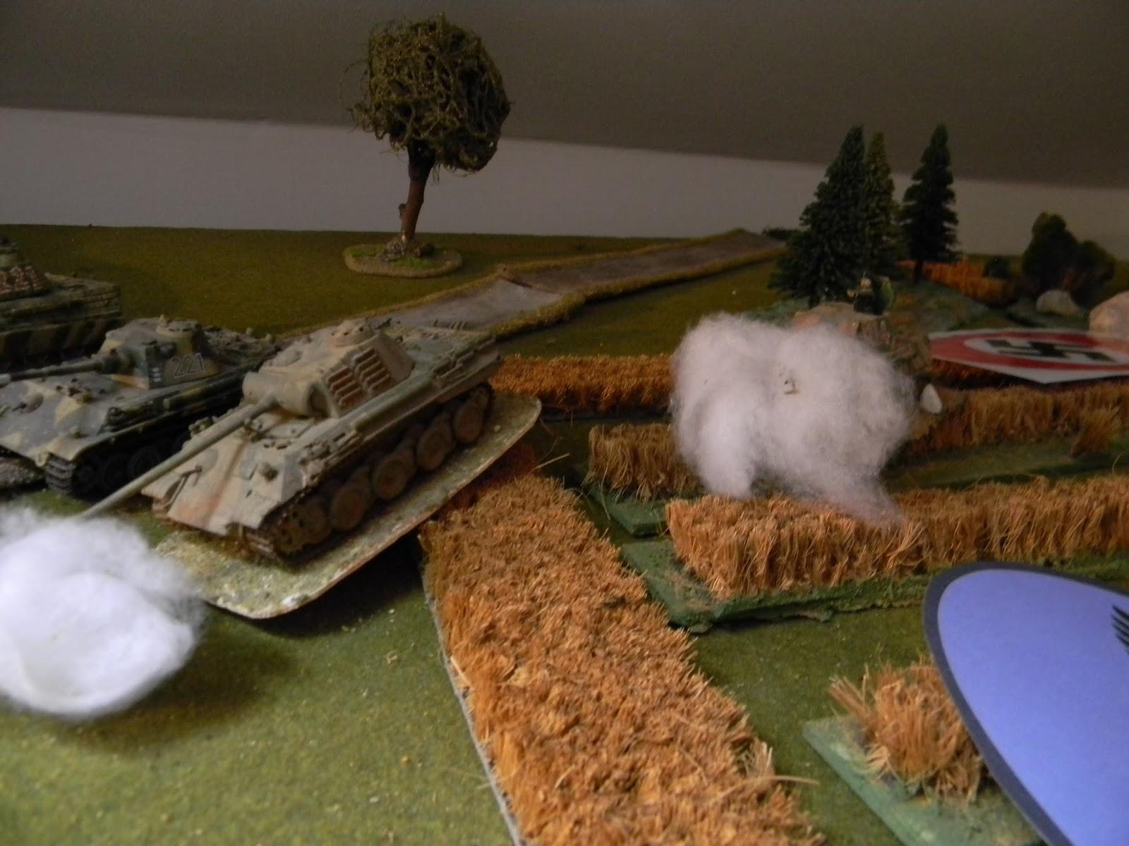 More 75mm tank gun fire...