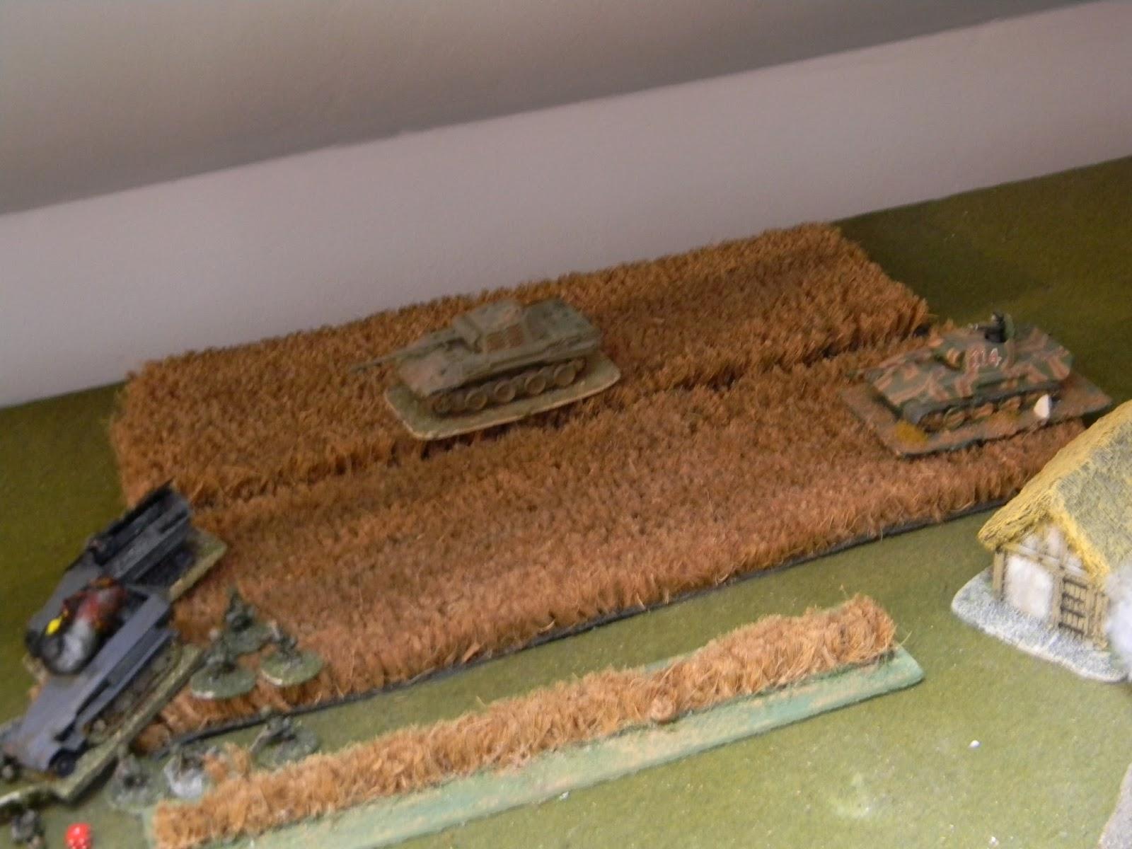 Which engage the enemy anti-tank guns