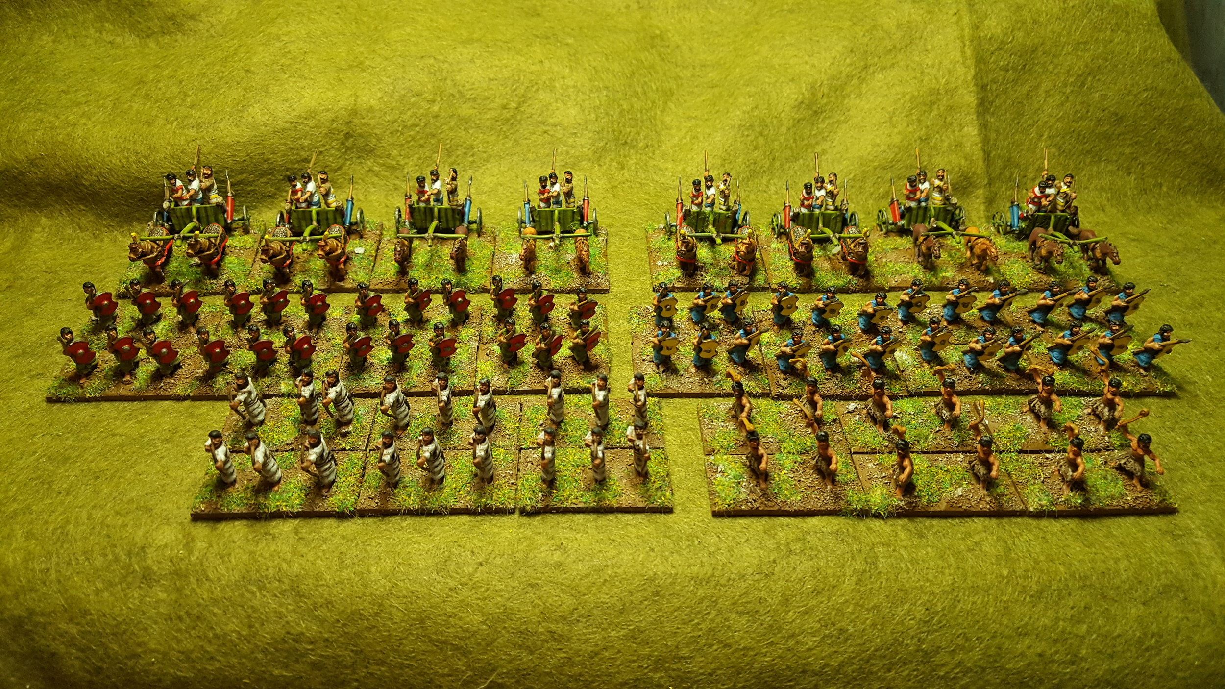 War wagons of a different sort: Hittite chariots and infantry from Sapper