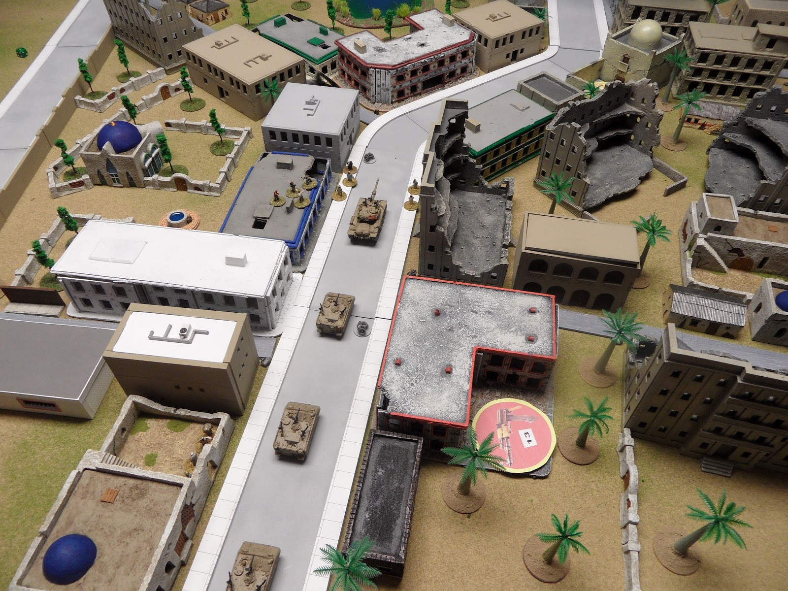 Final look at the convoy before the next turn...