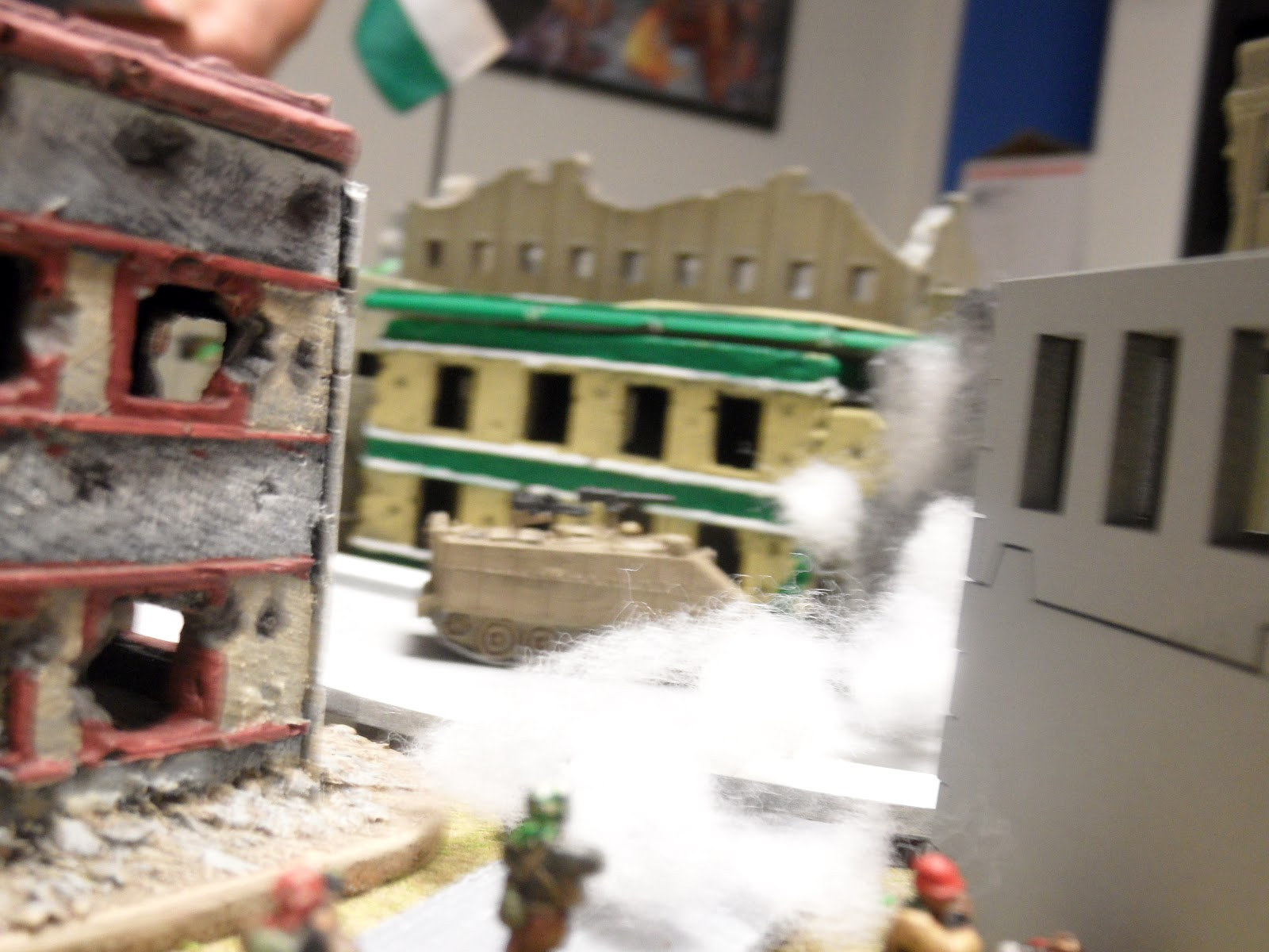 The cell driven out by the Magach gets a second chance!