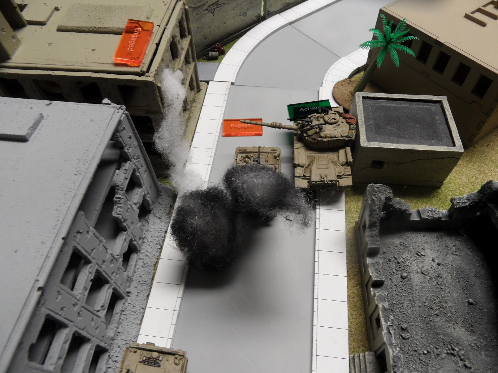Until the next shot, which turns it into a pillbox and takes an Israeli out of action.