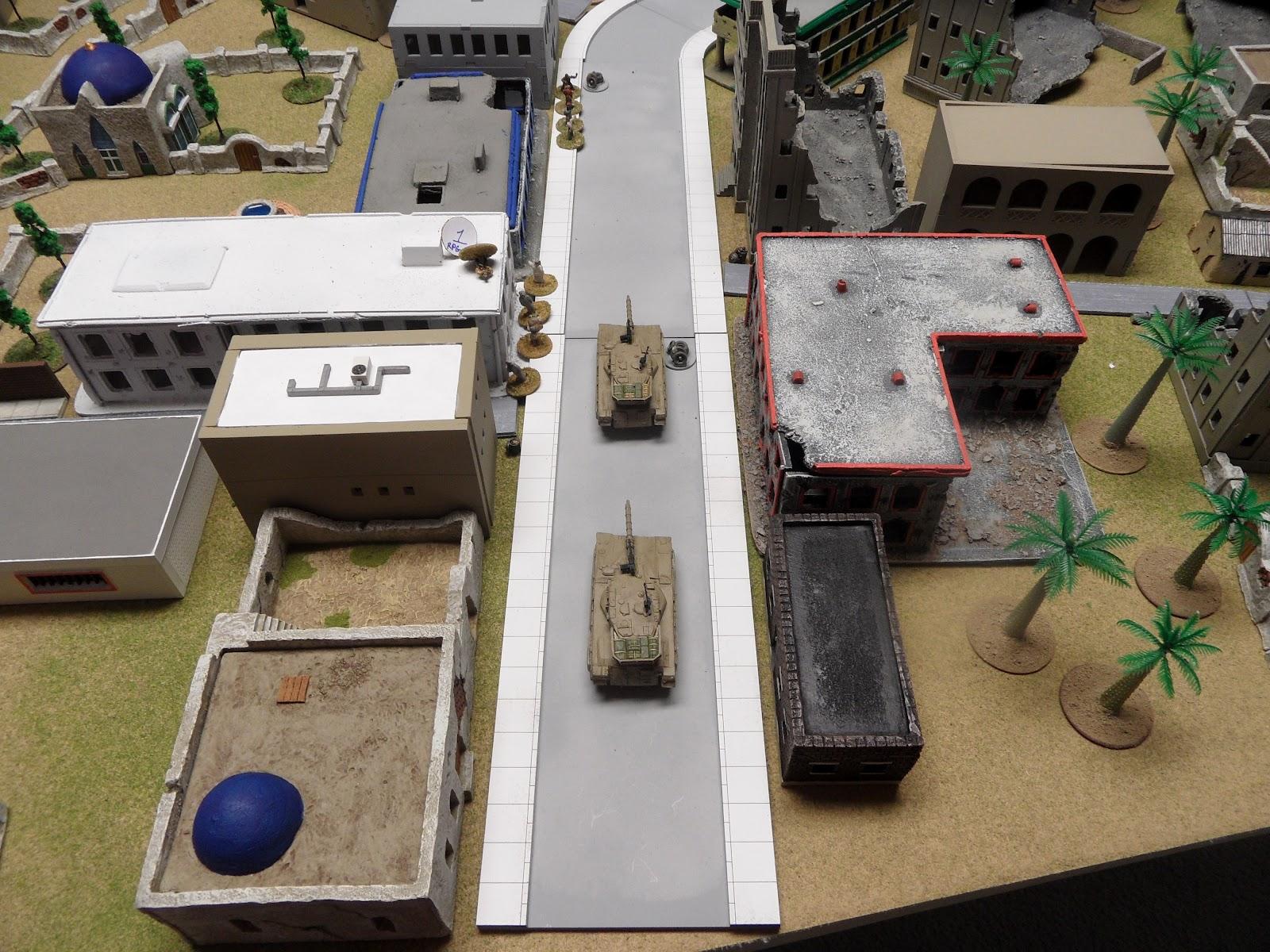 The arrivals of Merkavas signals a possible end to the ambush.