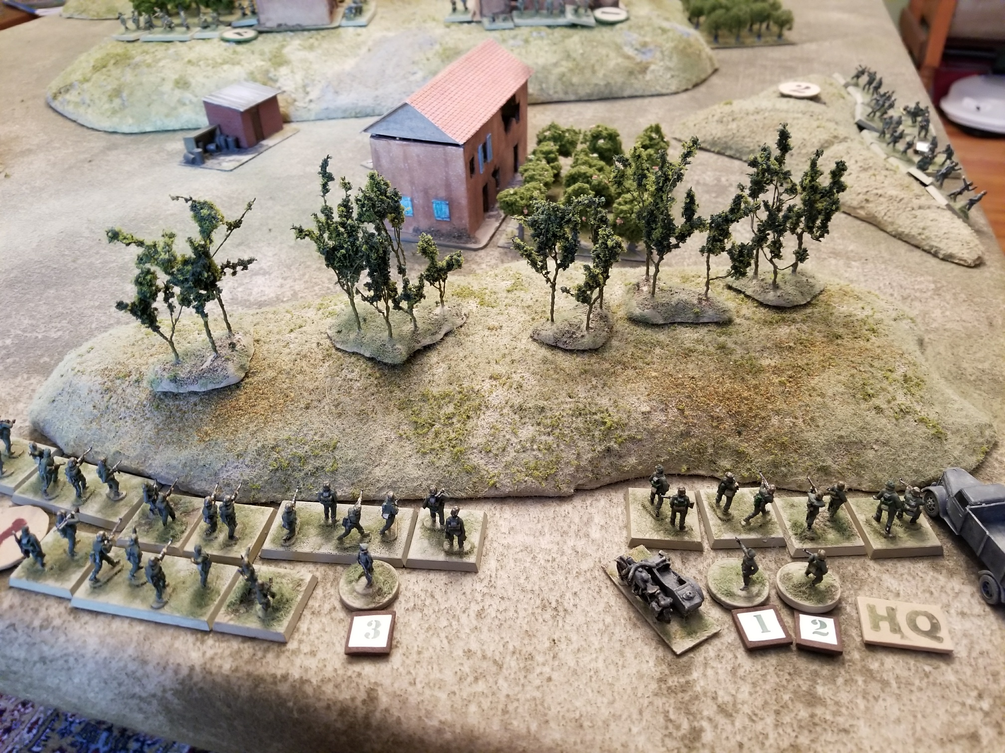 German Reinforcements Start Arriviing