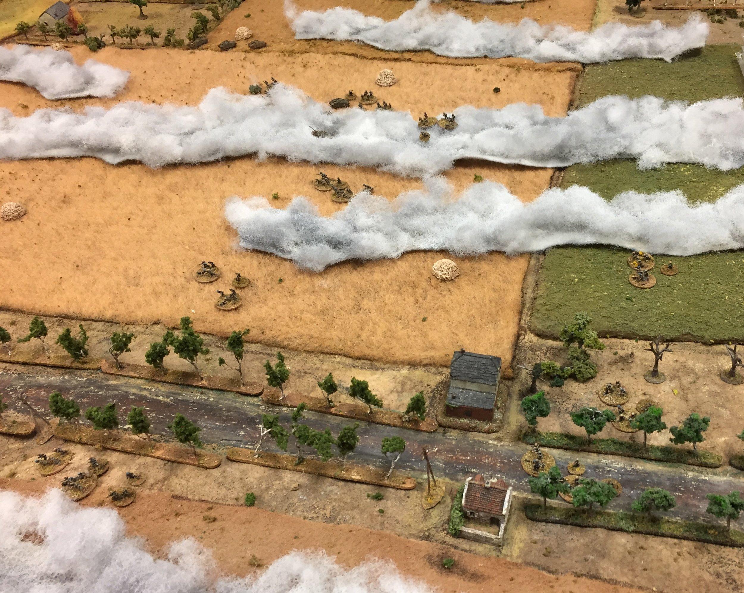 Luftwaffe Crosses the Road
