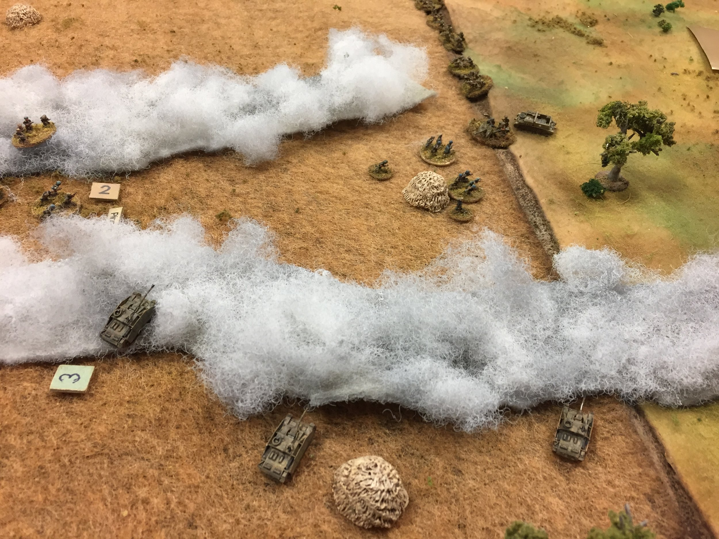 And the Luftwaffe Comes Out of the Fog into Close Combat