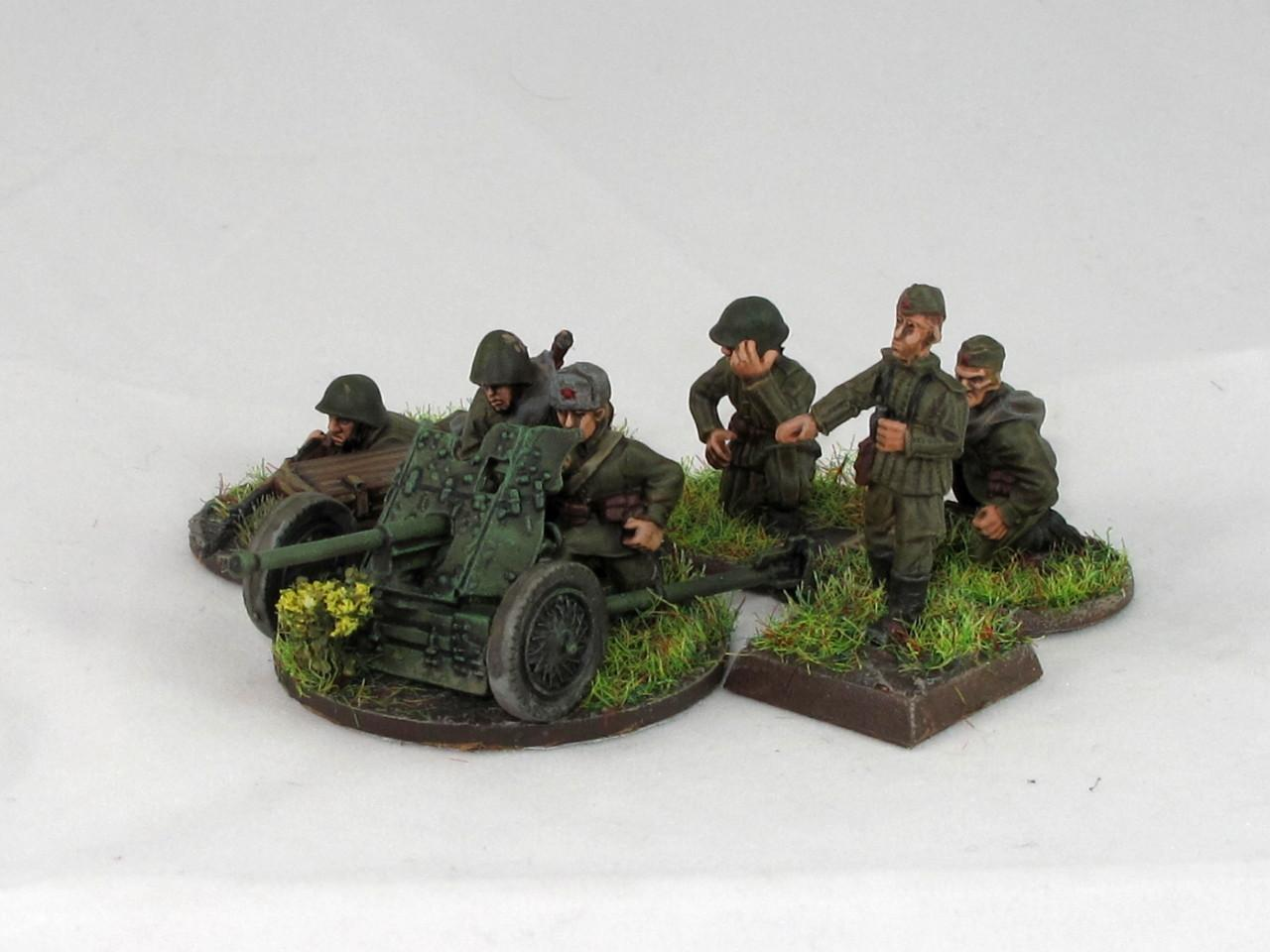 45mm Soviet AT Gun from Andy Duffell