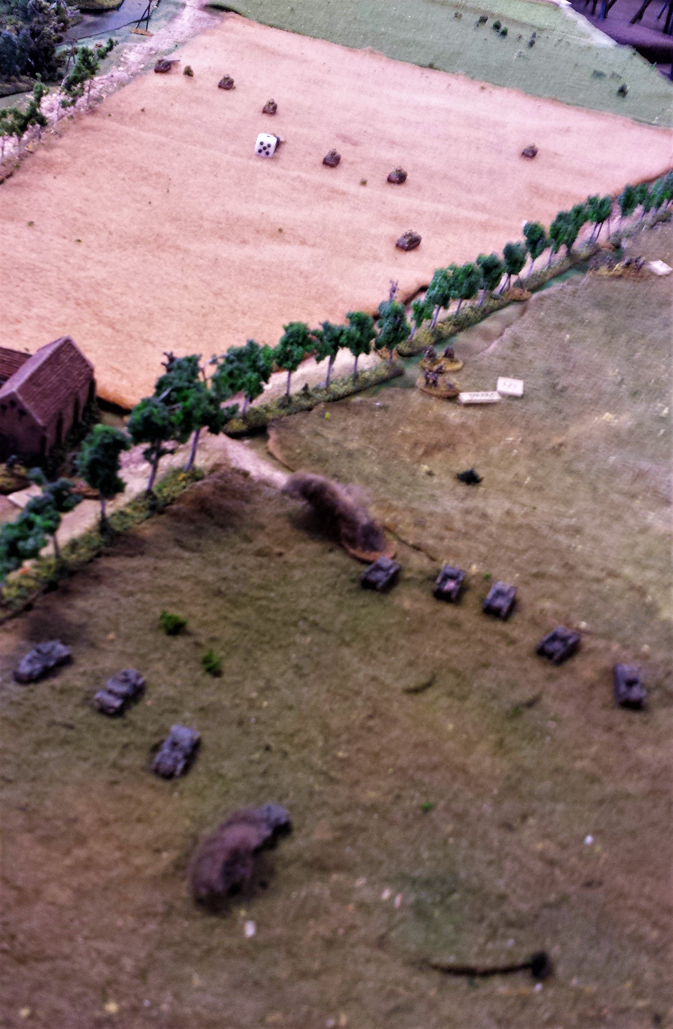 Panzer IIs Finish Off the Motorcycle Troops