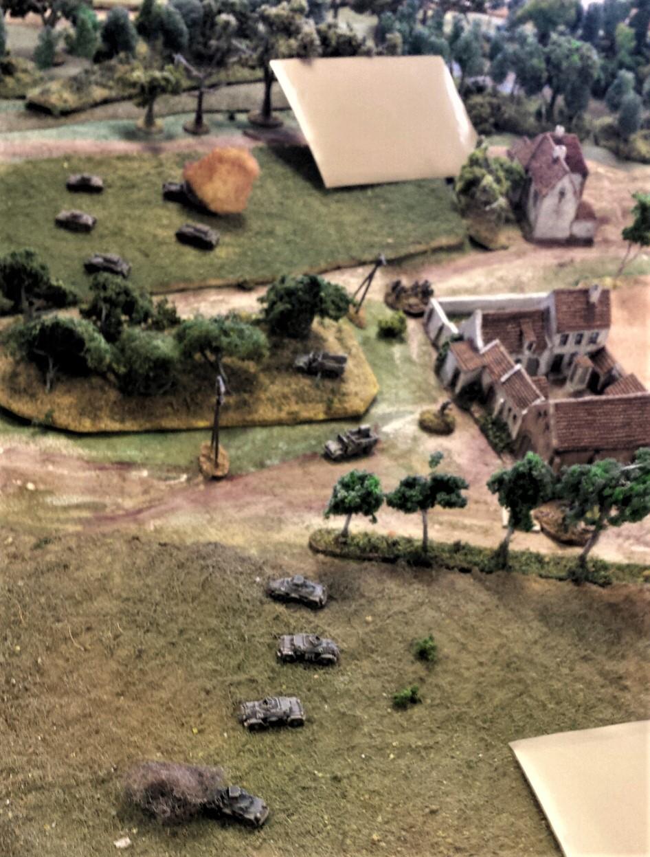 Germans Deployed