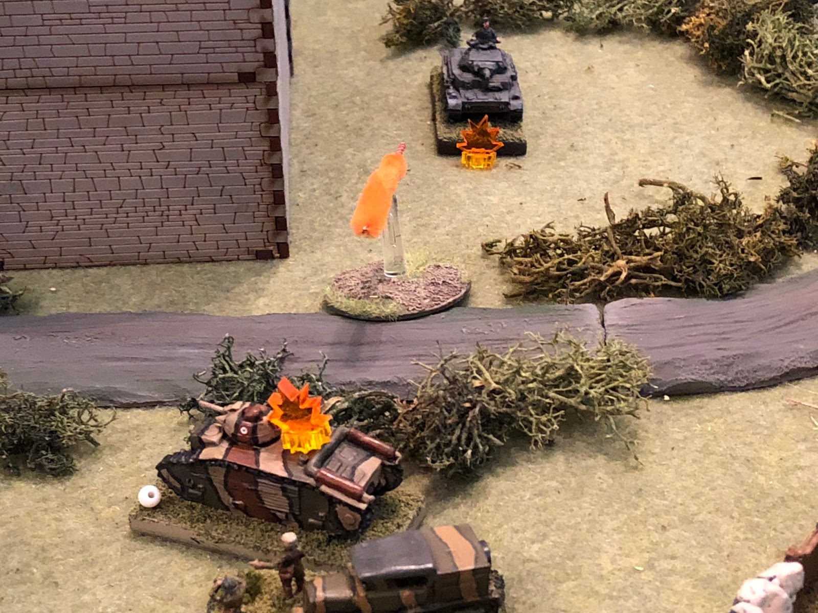 Sgt Guillaume ordered his gunner to return fire, and within seconds a 47mm round was slamming into SSgt Mangold's Pz IV...