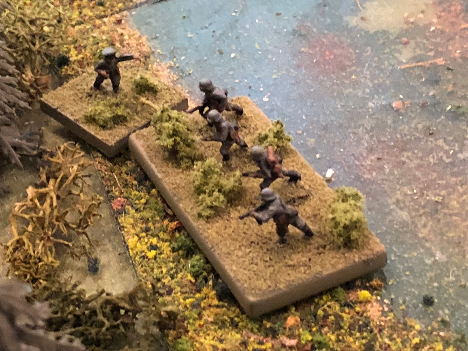 The inspiring German NCO rallies his subordinates back into the fight!