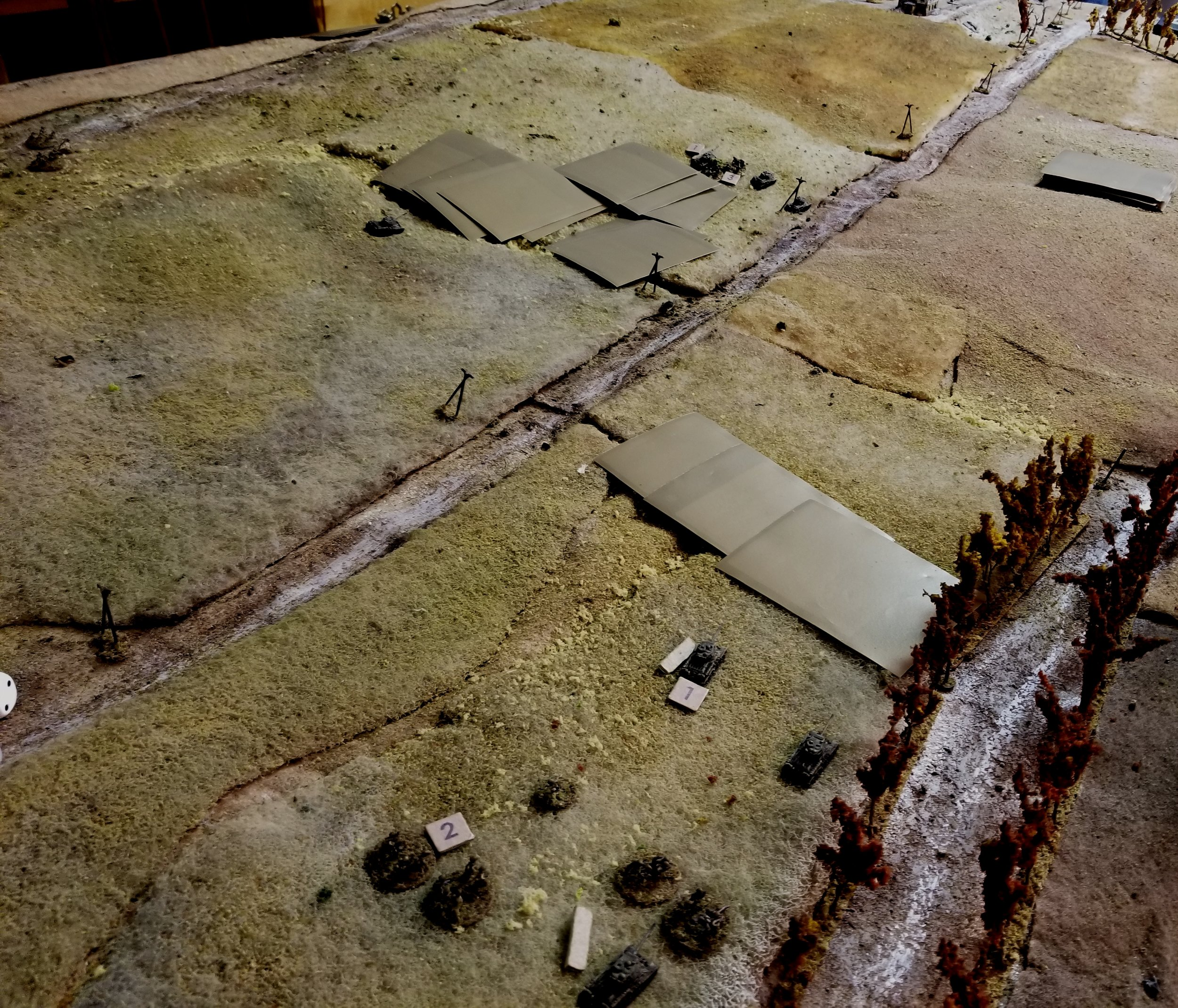 The Right Flank Soviets Move Out