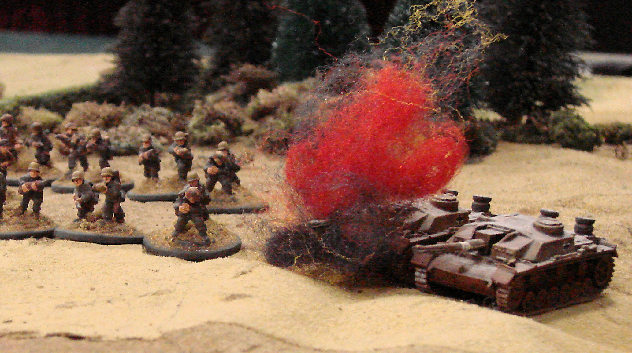 BOOM! (Rolled boxcars)