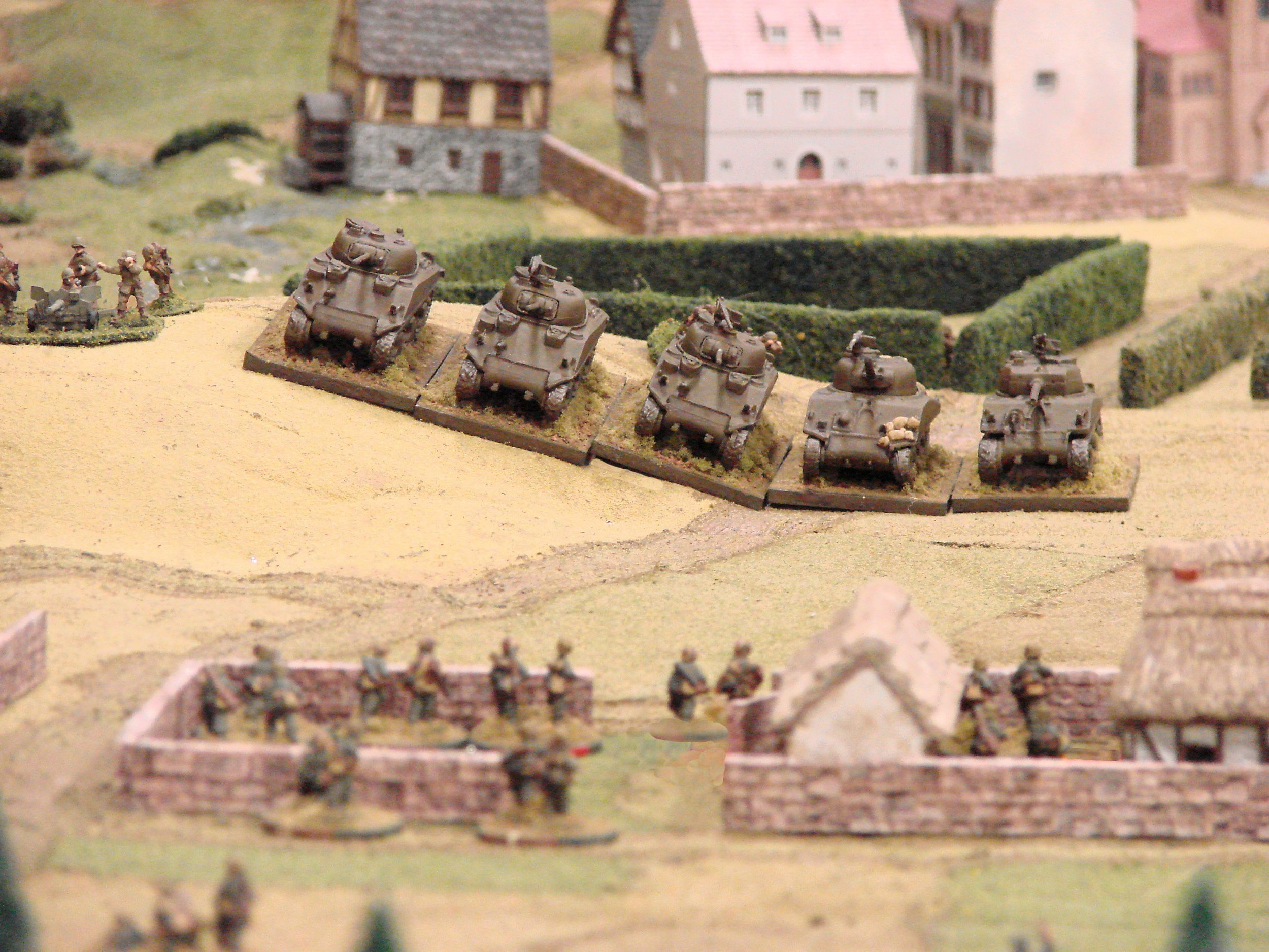American reinforcements arrive...