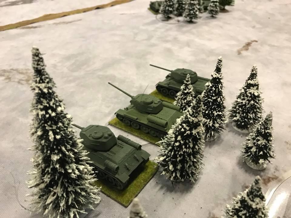 More T-34s and the Germans are in trouble