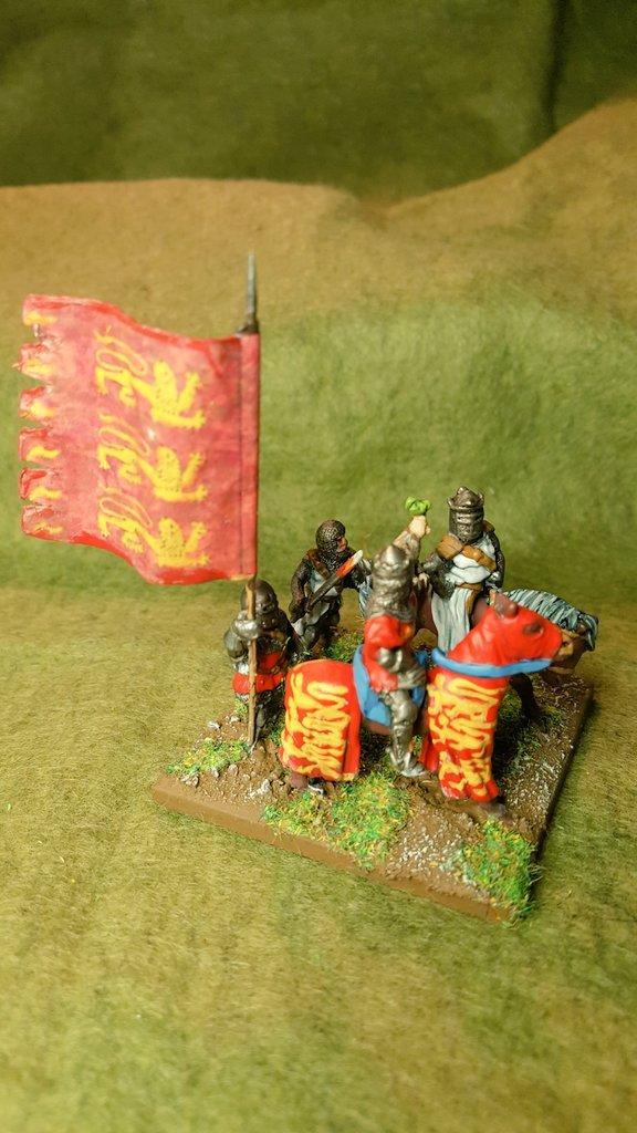 Sapper's Edward II and entourage