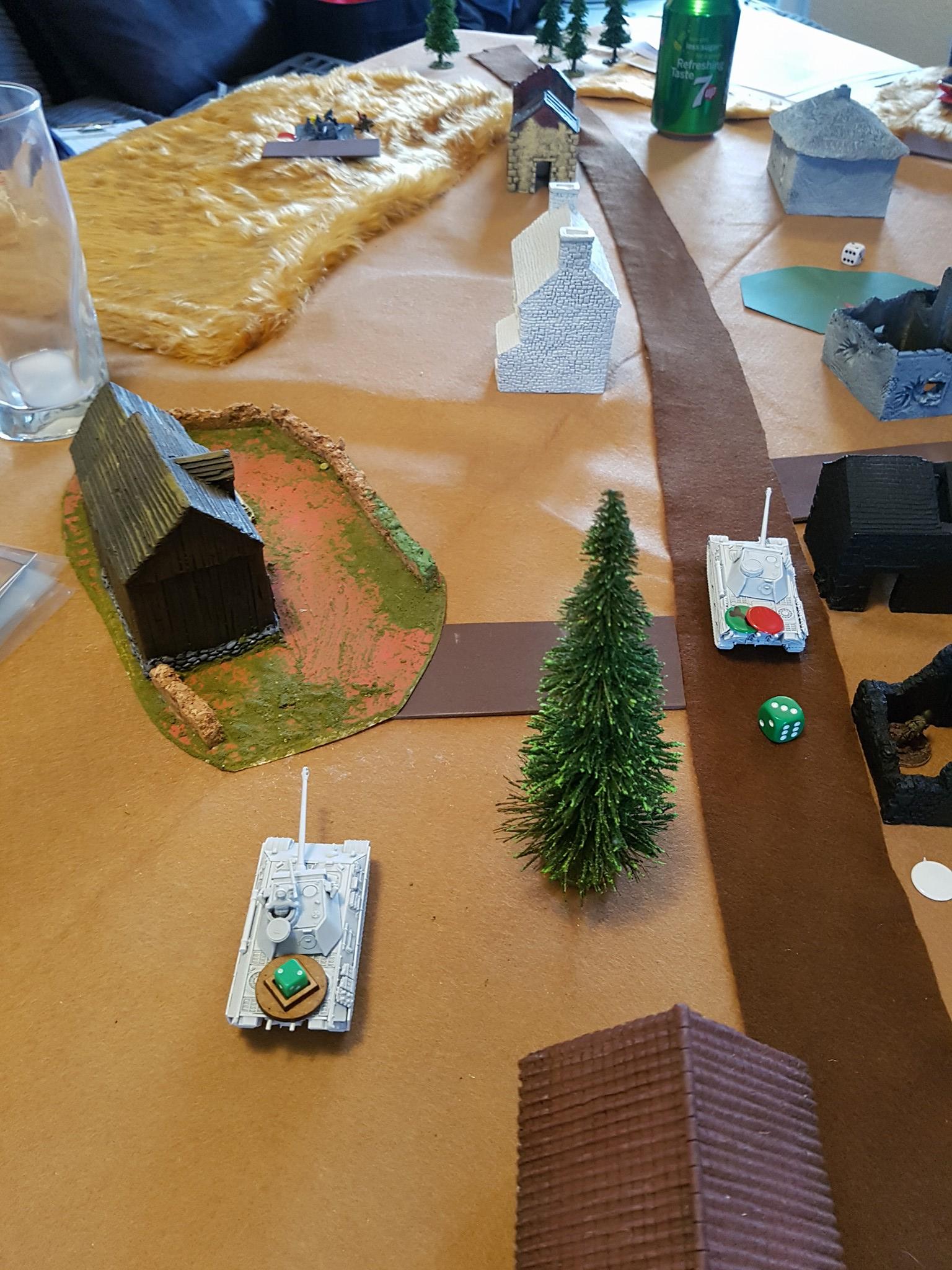 "Zug advances under ""Hunt"" orders"