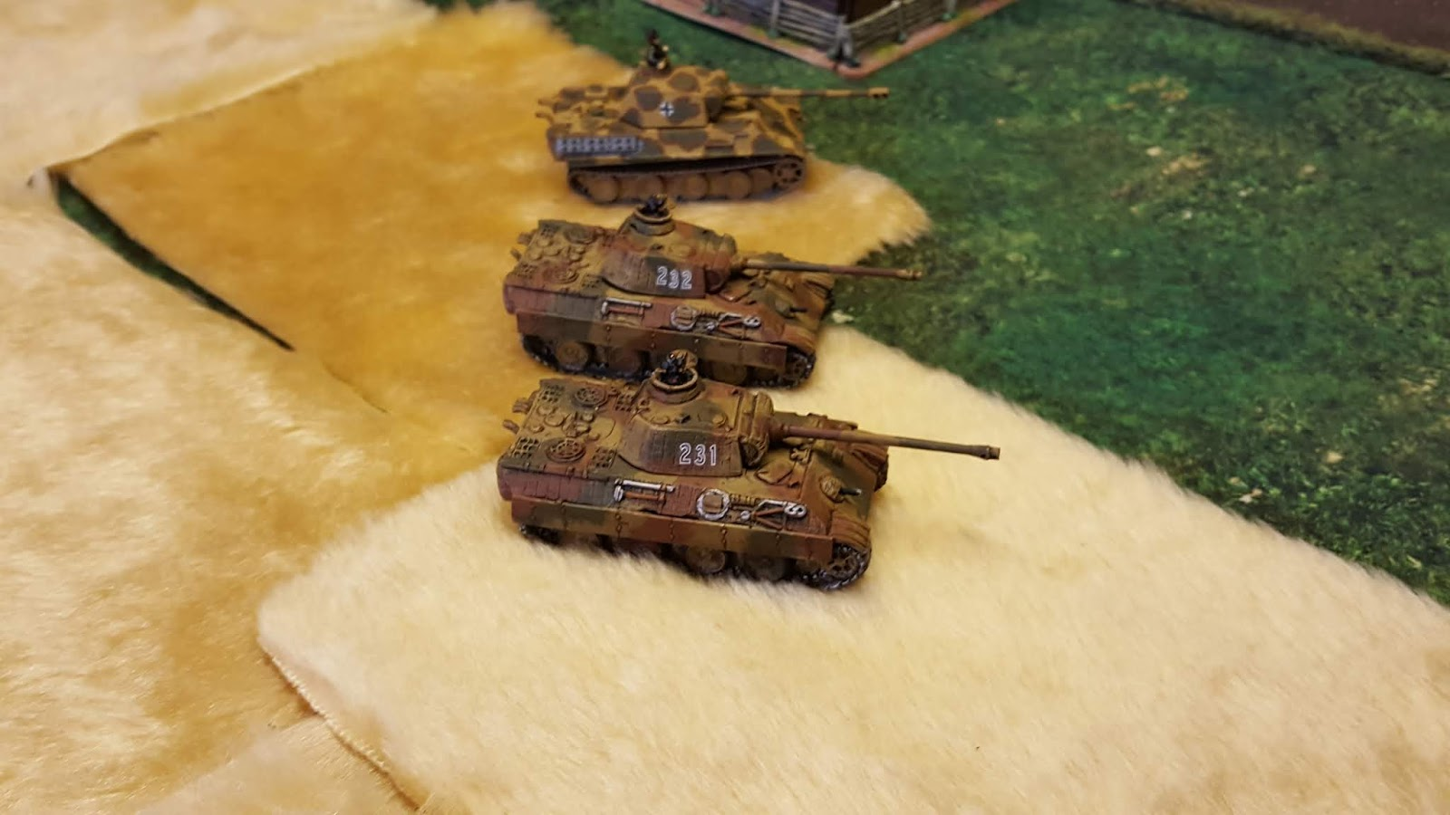Panthers deploy to thwart Russians