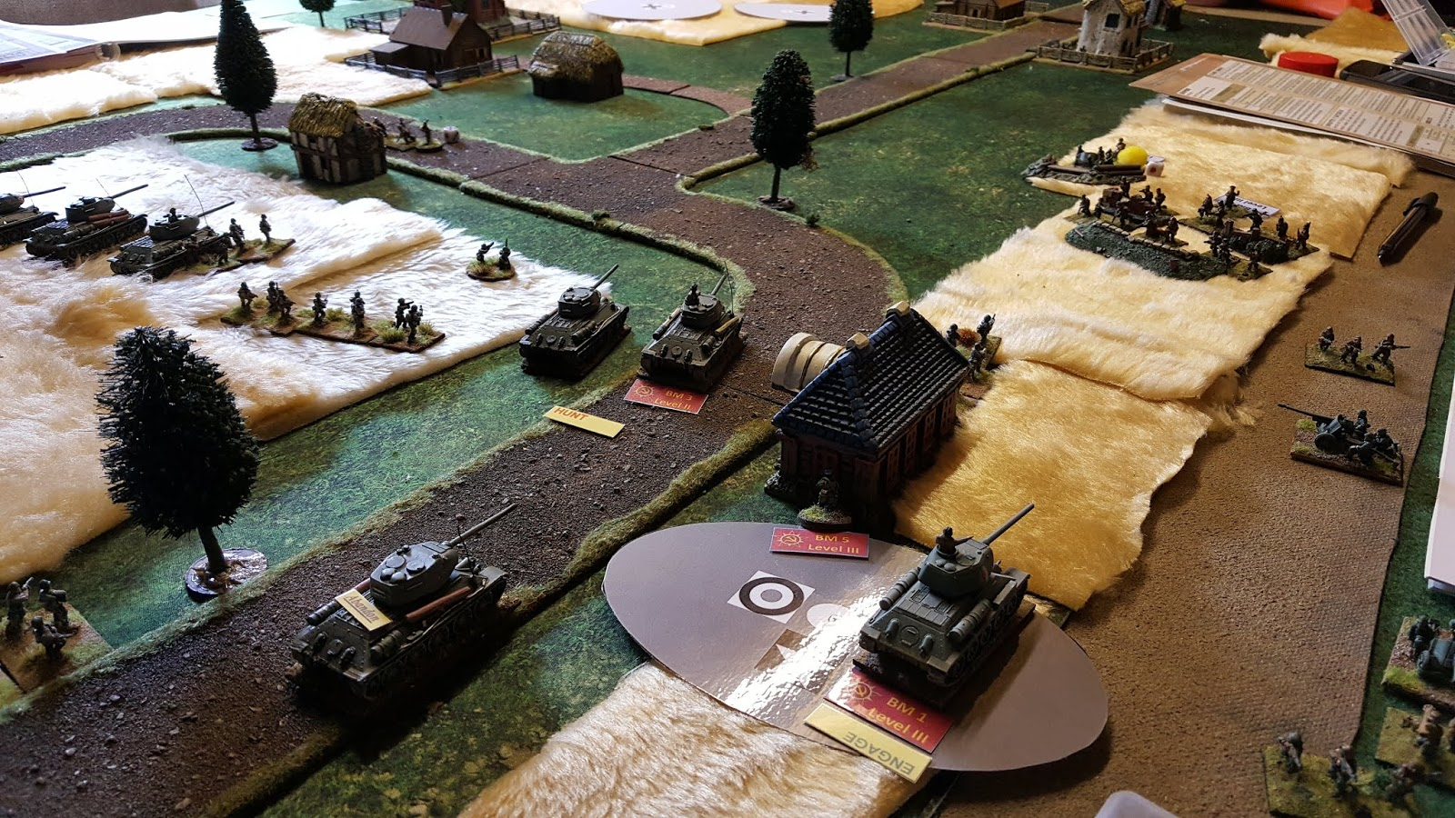 Called in with Dice Demon Steve & Sgt Steiner to watch a play-through of the much talked about 'I Ain't Been Shot Mum' rules.
