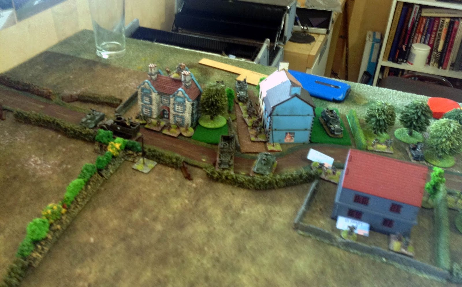 Yank Infantry Platoon and Recce defend southern approaches to bridge