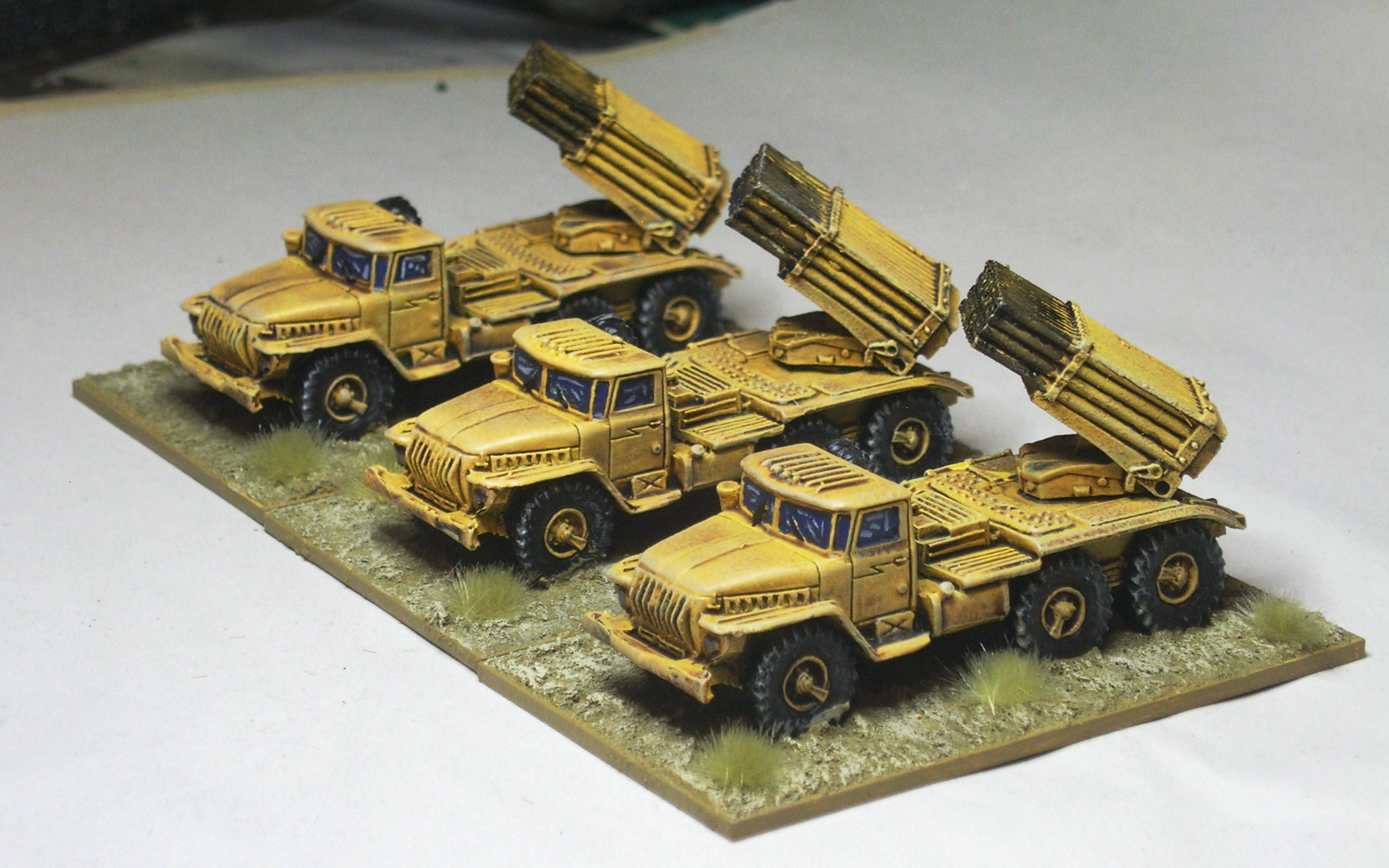 Divisional Support:  BM-21 Multiple Rocket Launcher Battery