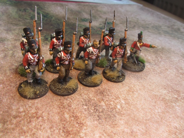 Redcoats from Mervyn