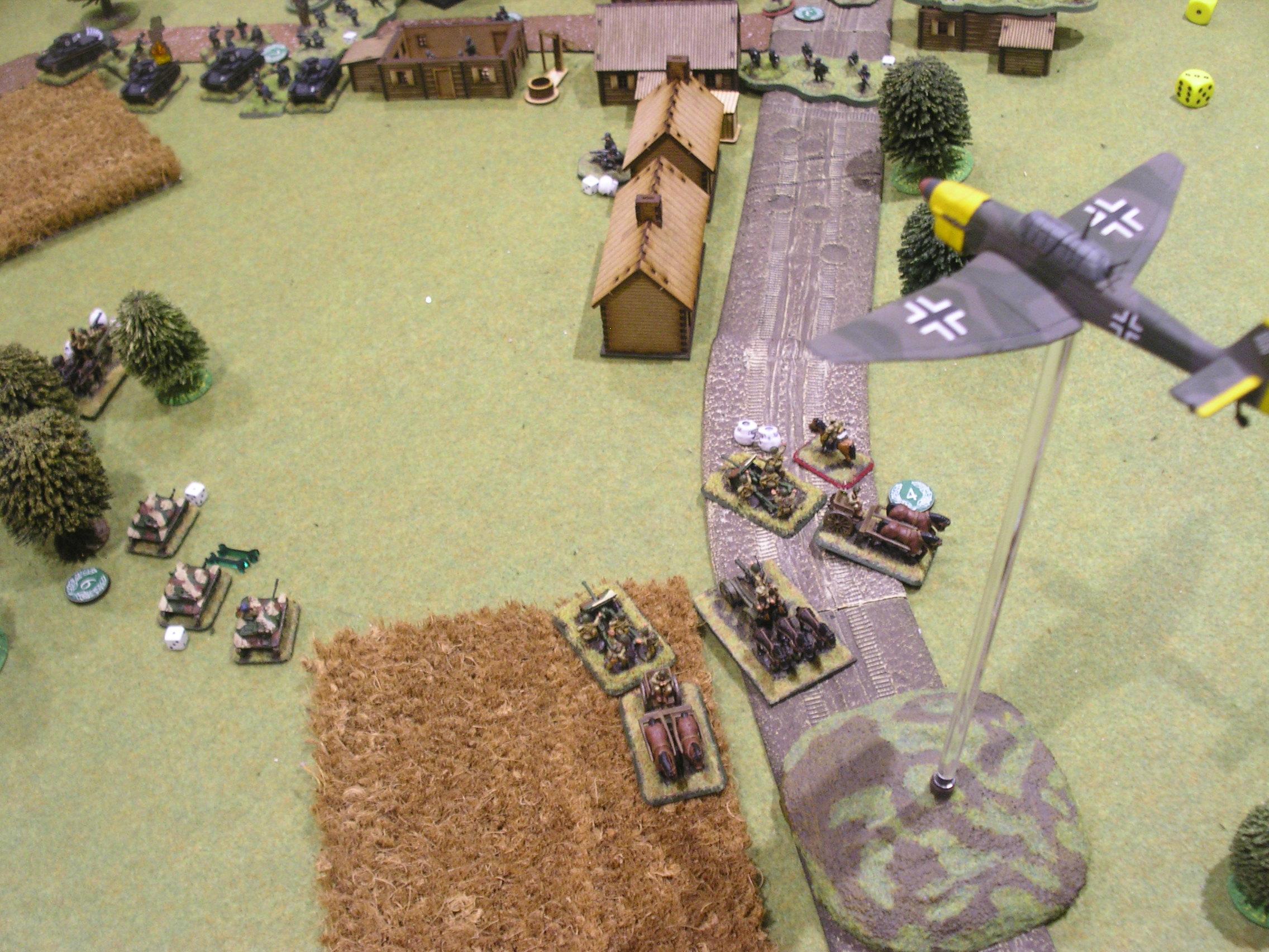 The Luftwaffe intervene