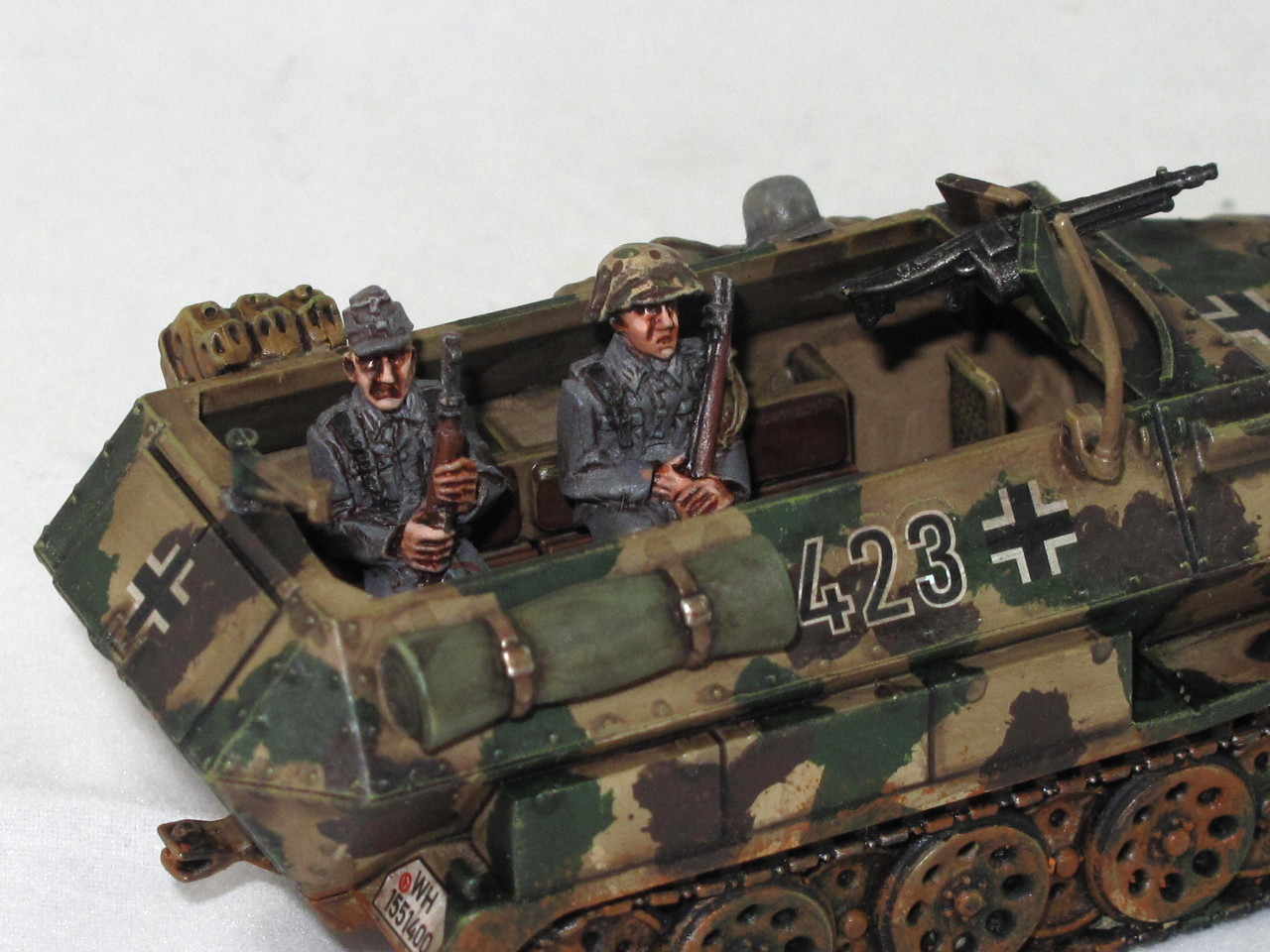 Half-track crew from Andy Duffell