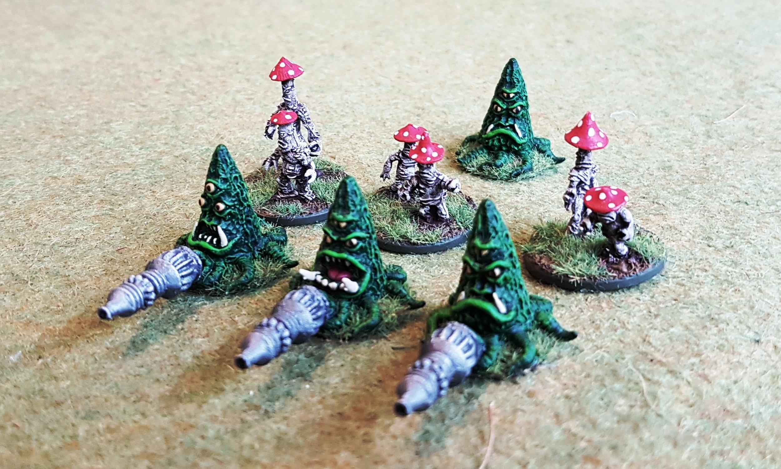 Slishian Heavy Weapon Teams