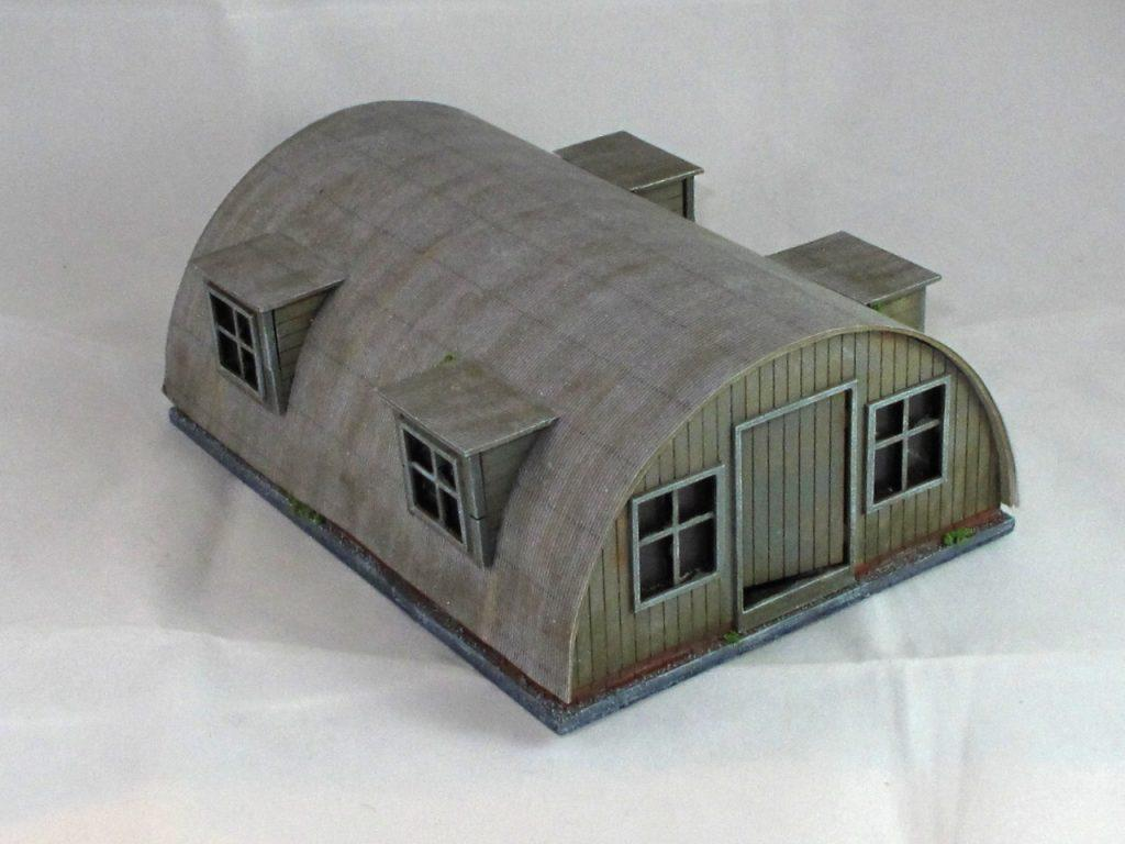 Not glamorous, but a cracking model: a Nissan hut from Andy Duffell
