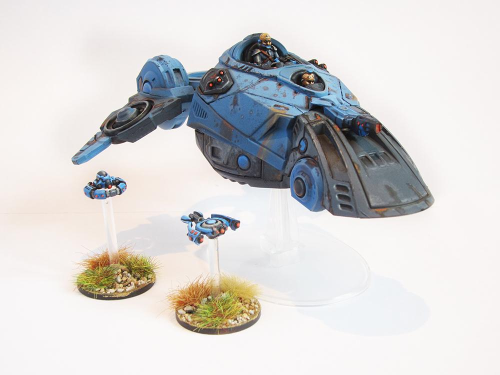 Freeborn for Beyond the Gates of Antares: a Solar Command Skimmer (also Steve Lampon)